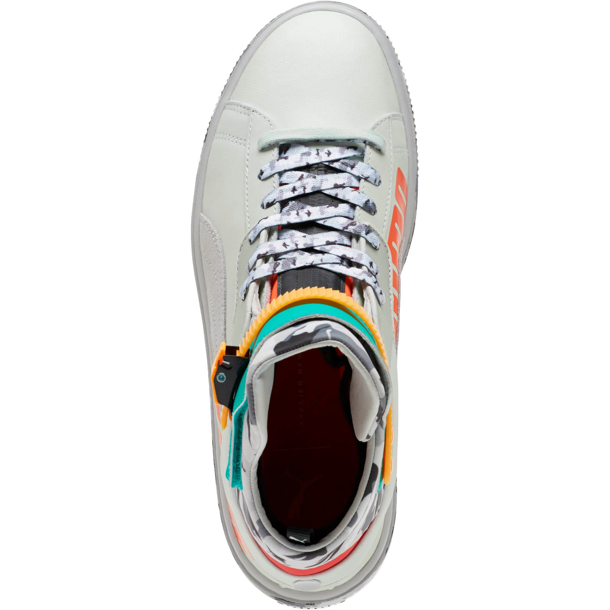 Thumbnail 5 of PUMA x ATELIER NEW REGIME Ren Boots, Green Lily-Gray Violet, medium