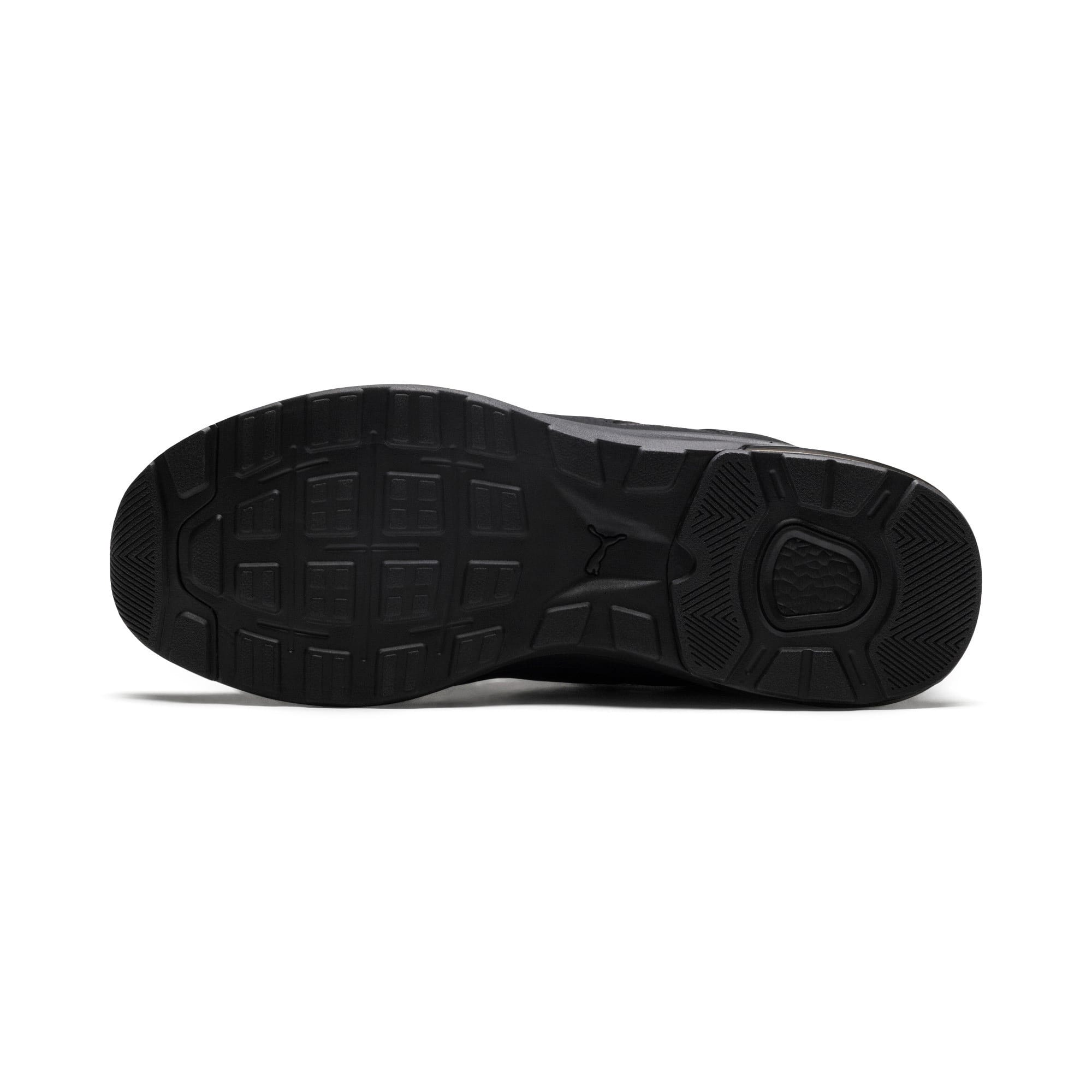 Thumbnail 3 of Electron Street Sneakers, Puma Black-Puma Black-Black, medium