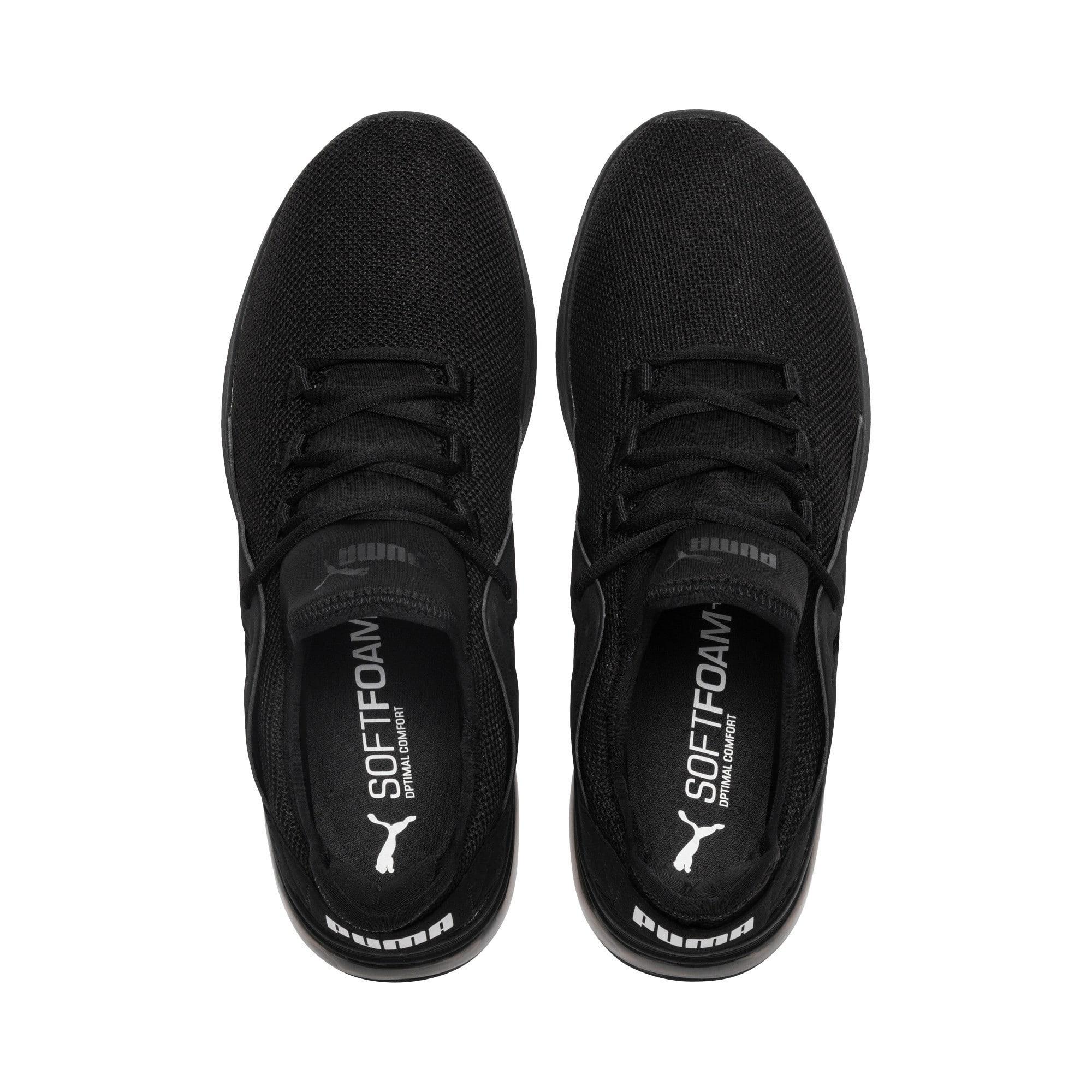 Thumbnail 6 of Electron Street Sneakers, Puma Black-Puma Black-Black, medium