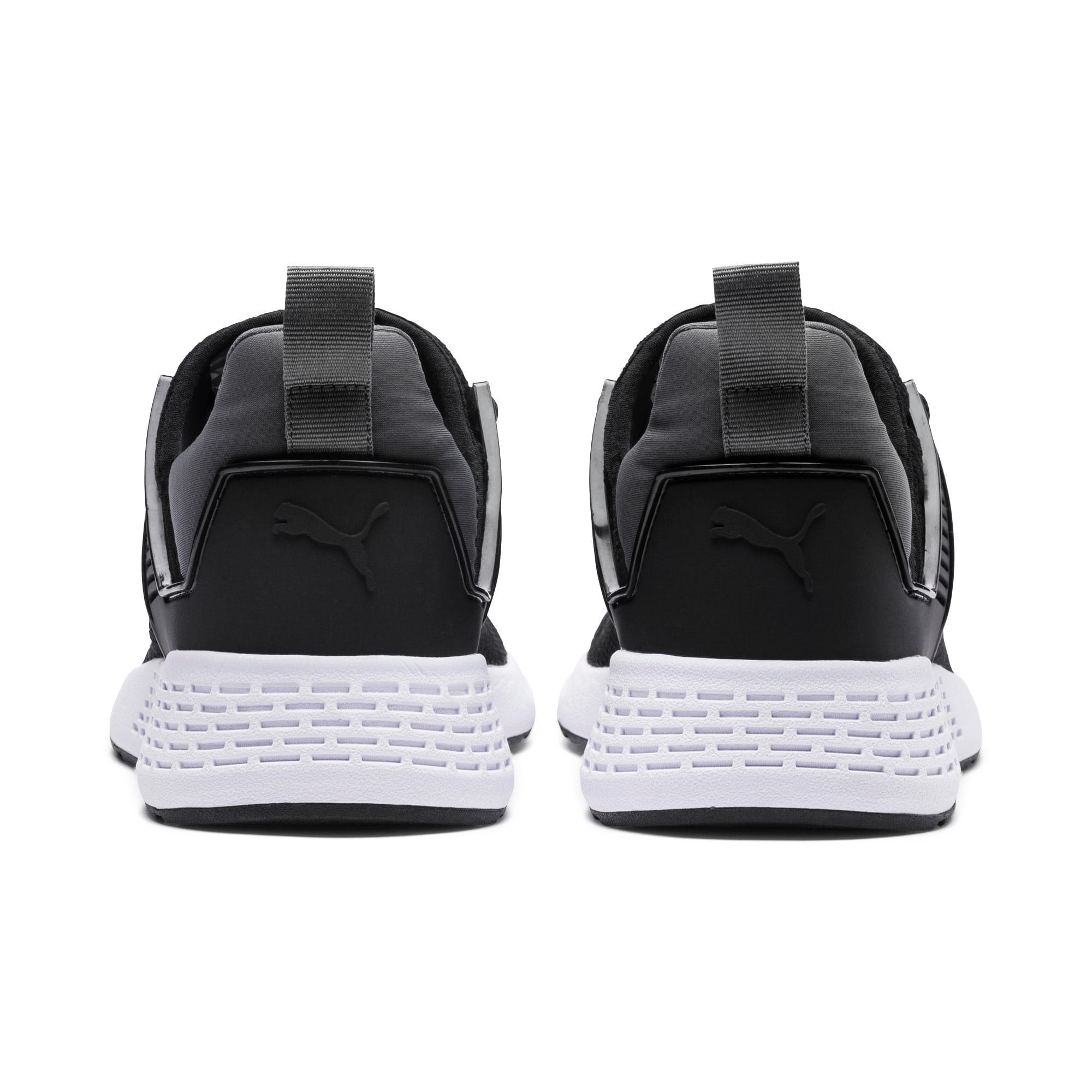 Thumbnail 4 of Insurge Mesh  Sneakers, Black-Iron Gate-White, medium