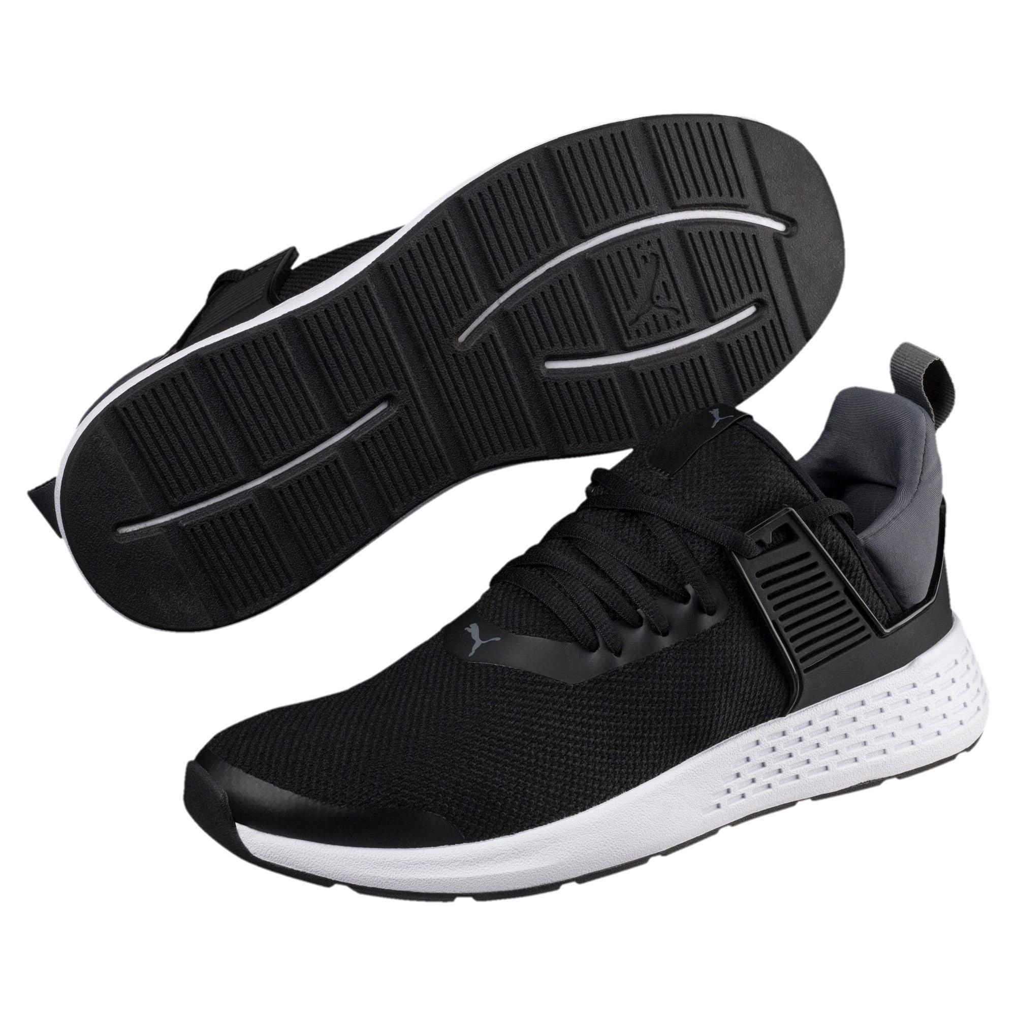 Thumbnail 2 of Insurge Mesh  Sneakers, Black-Iron Gate-White, medium