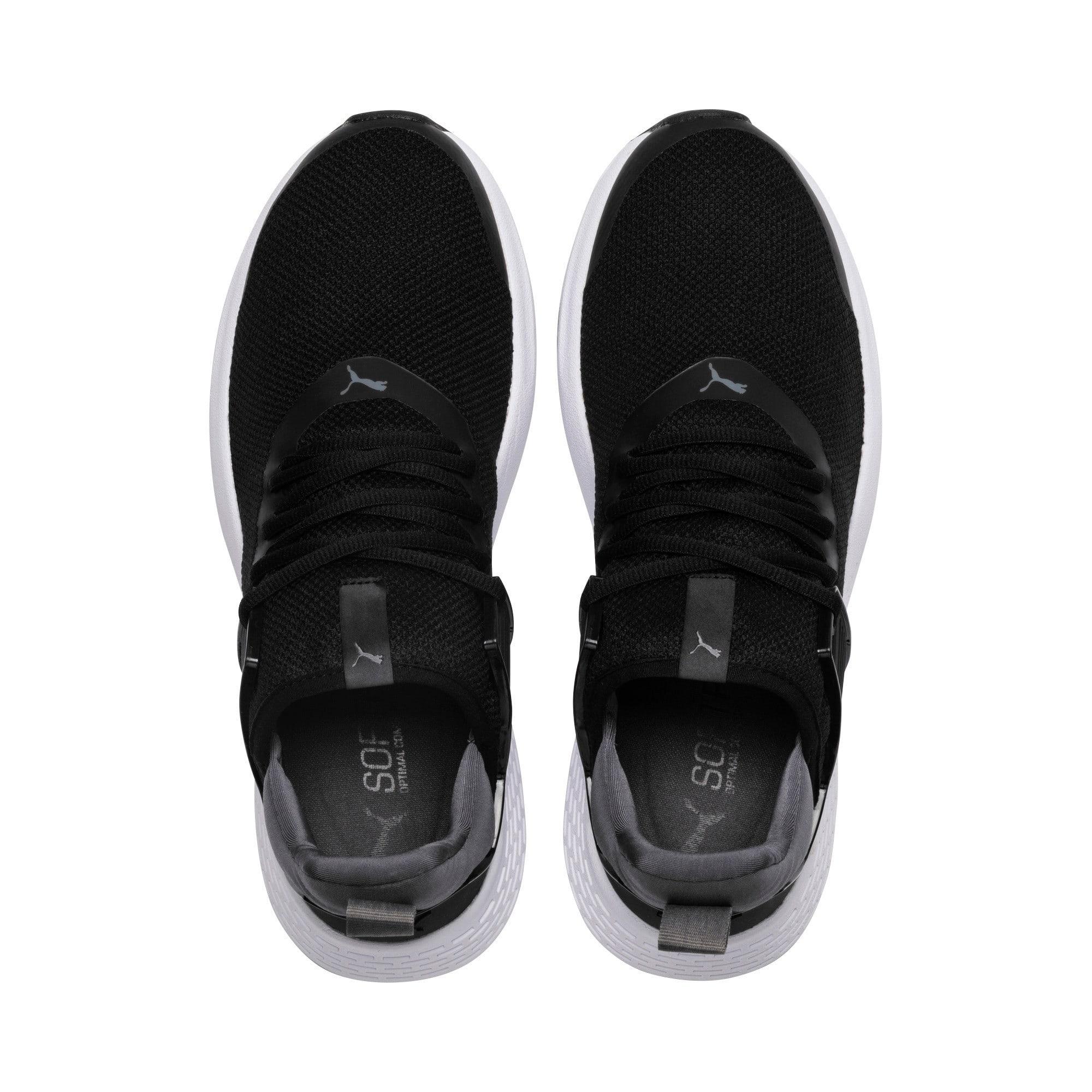 Thumbnail 6 of Insurge Mesh  Sneakers, Black-Iron Gate-White, medium