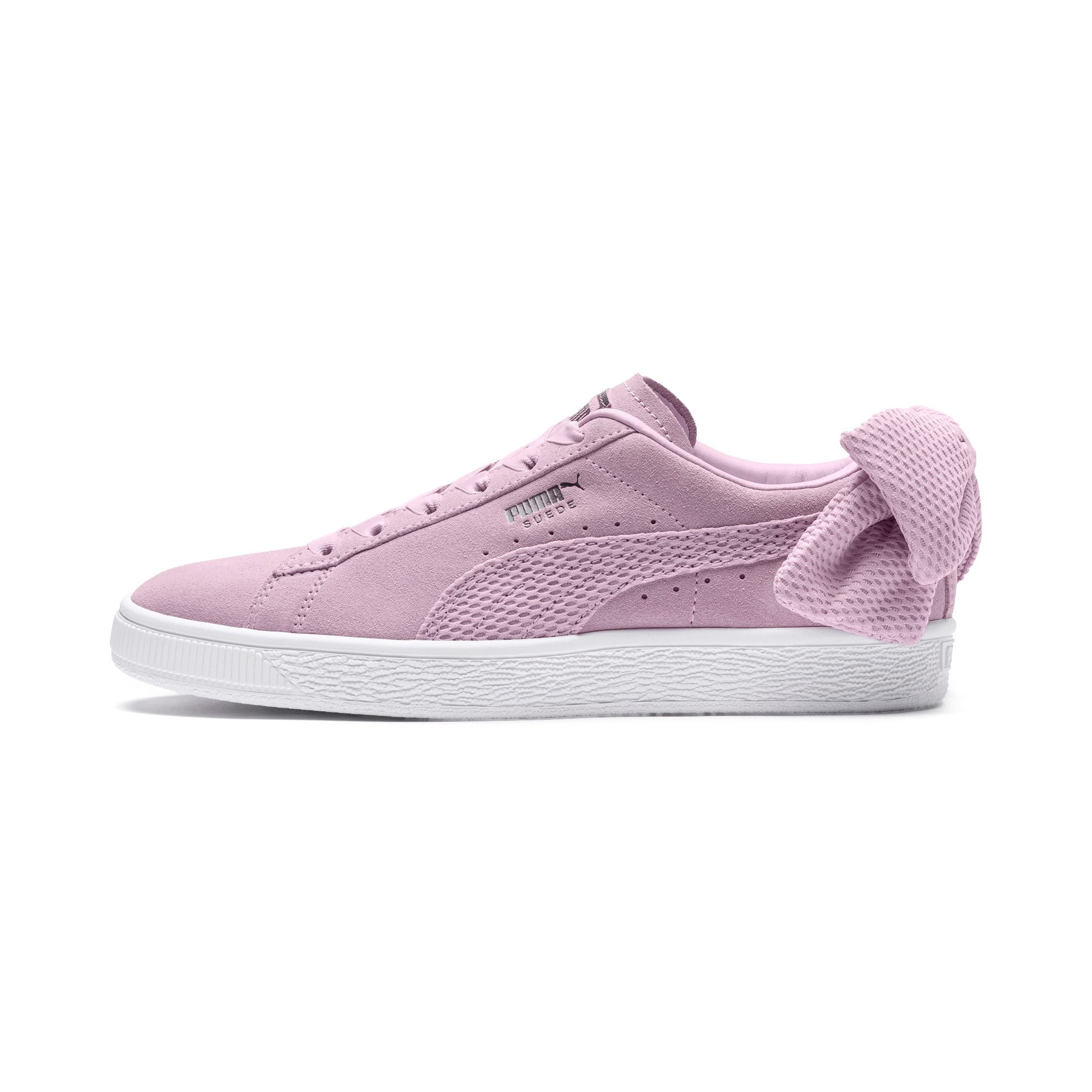 many styles fresh styles united kingdom Suede Bow Uprising Women's Sneakers