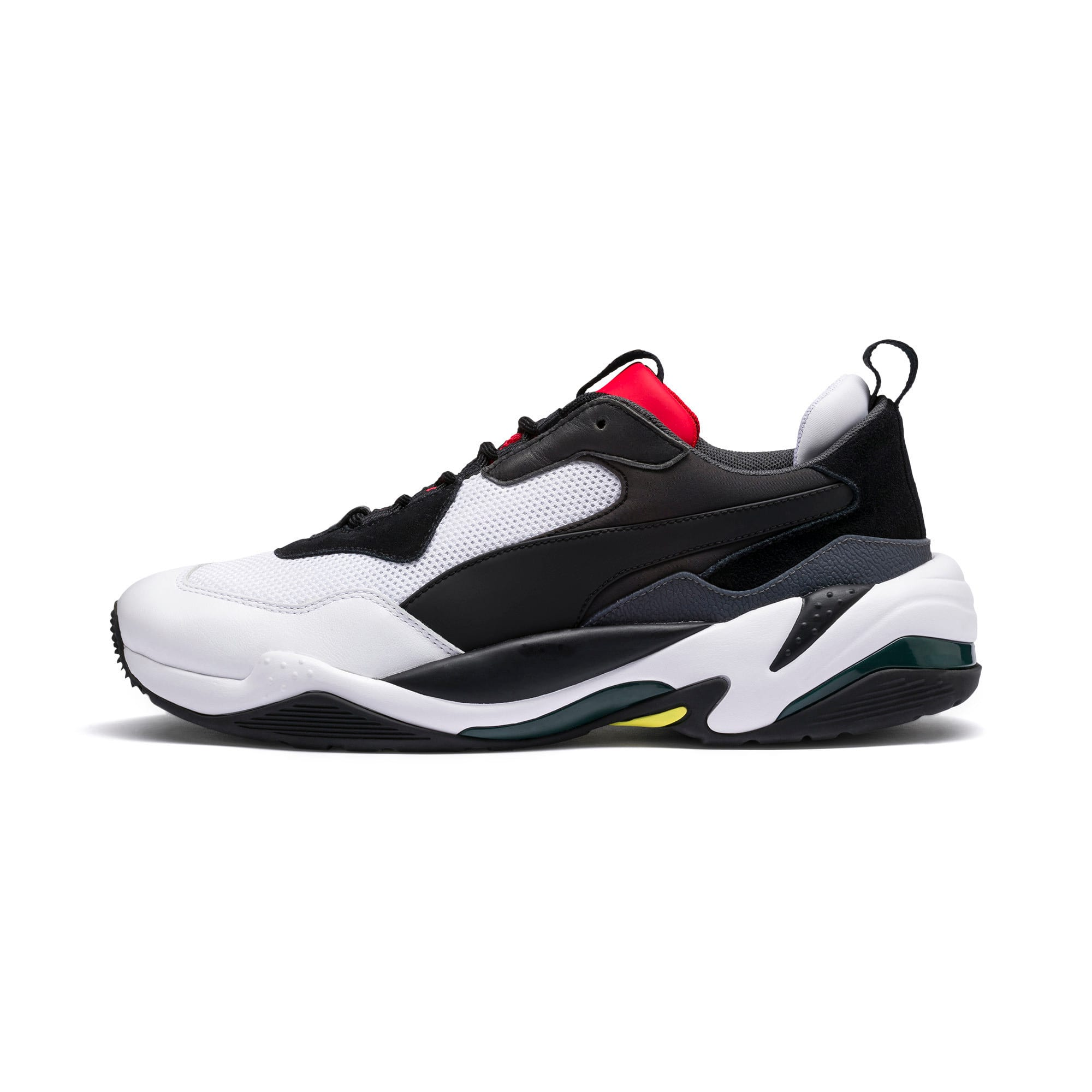 Thumbnail 1 of Thunder Spectra Sneakers, Puma Black-High Risk Red, medium