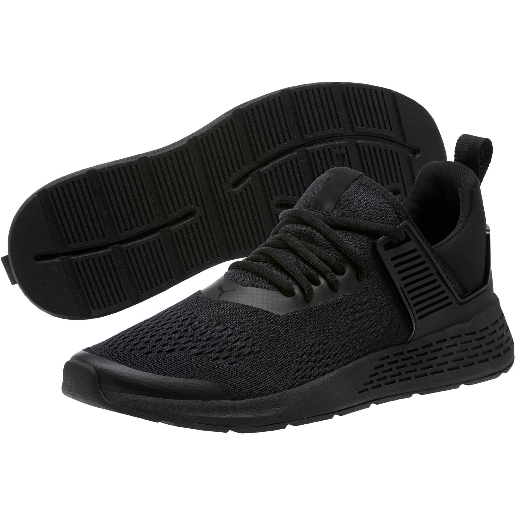 Thumbnail 2 of Insurge Eng Mesh Sneakers, Black-Black-Black, medium