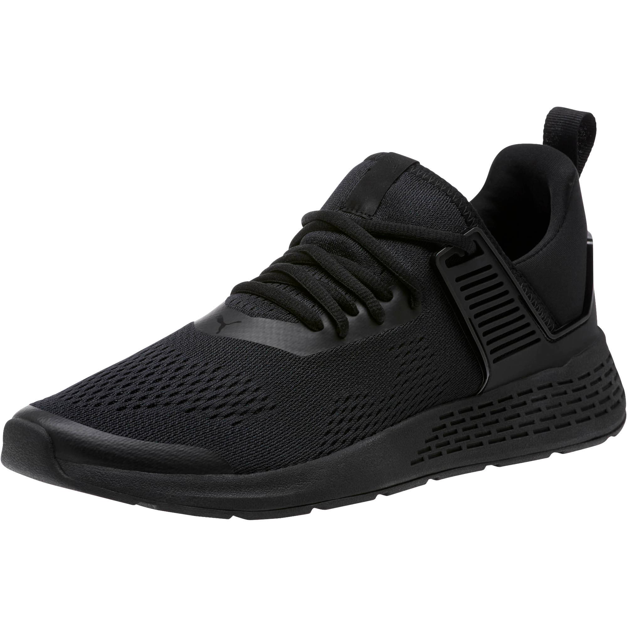 Thumbnail 1 of Insurge Eng Mesh Sneakers, Black-Black-Black, medium