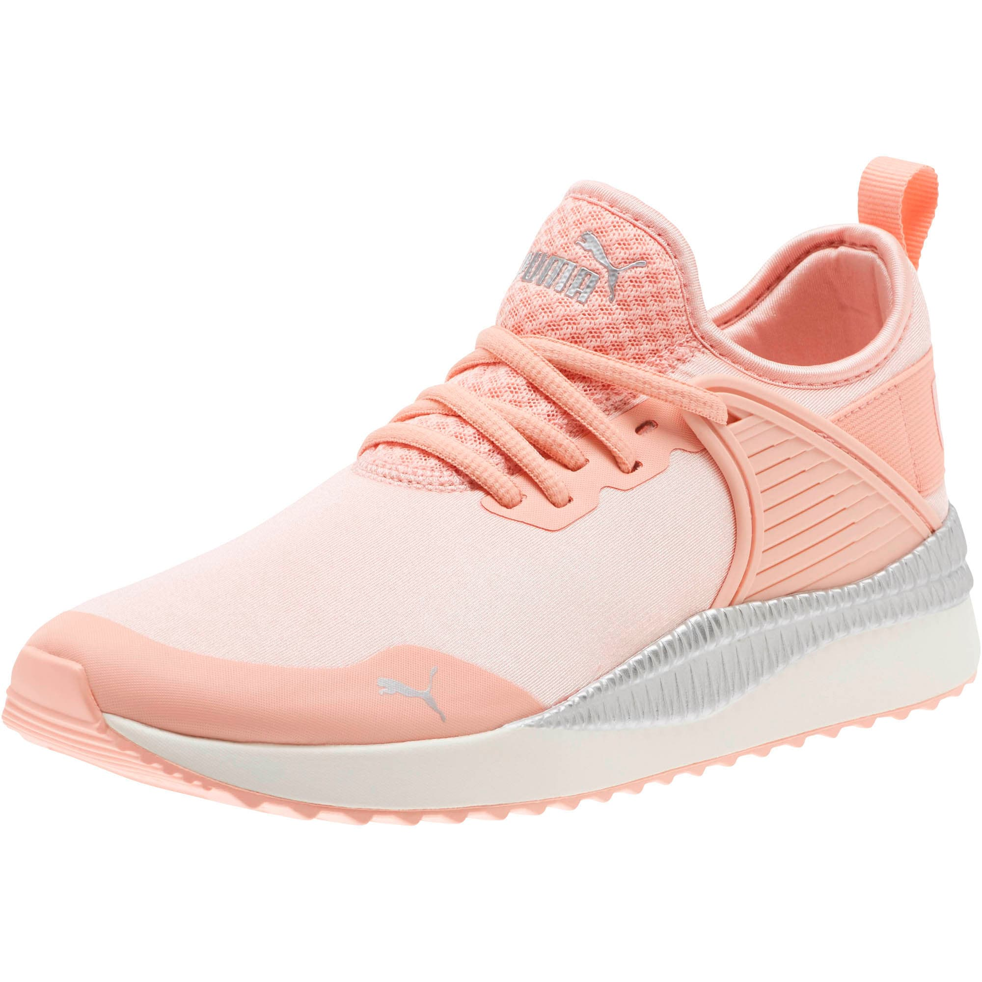 Thumbnail 1 of Pacer Next Cage ST2 Women's Sneakers, Peach Bud-Puma Silver, medium