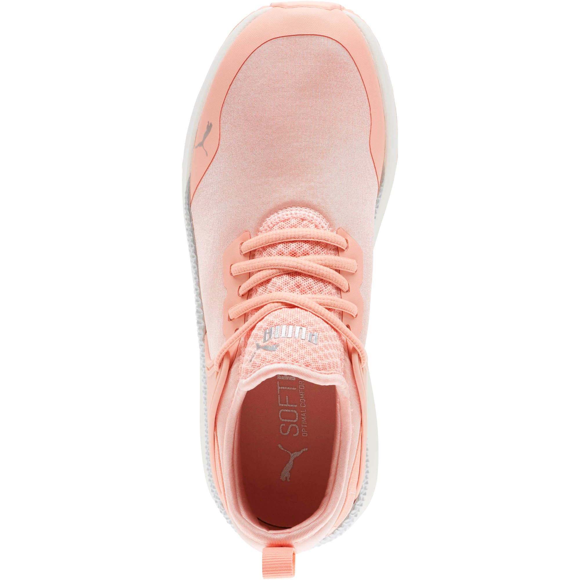 Thumbnail 5 of Pacer Next Cage ST2 Women's Sneakers, Peach Bud-Puma Silver, medium