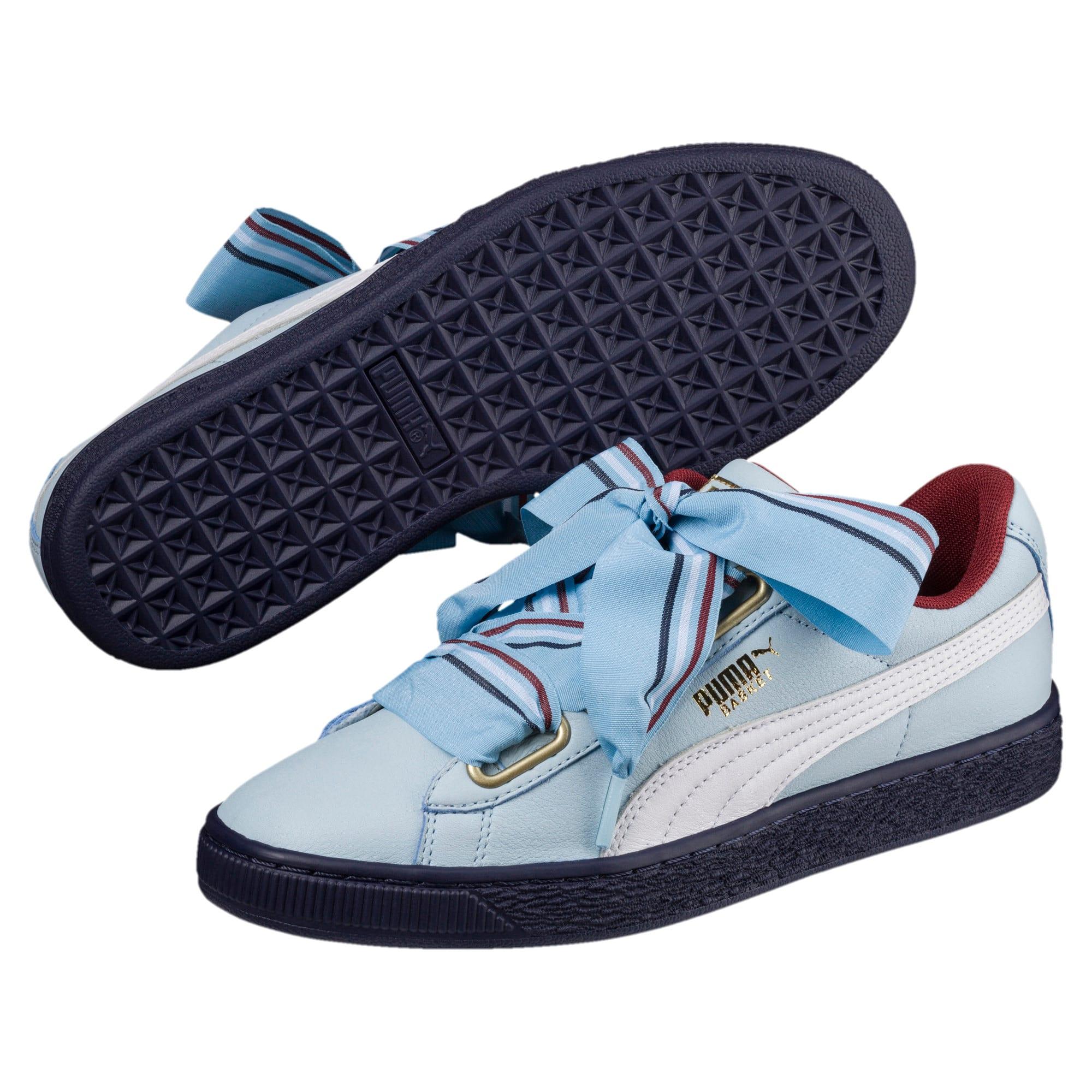 Thumbnail 2 of Basket Heart New School Women's Sneakers, CERULEAN-CERULEAN, medium