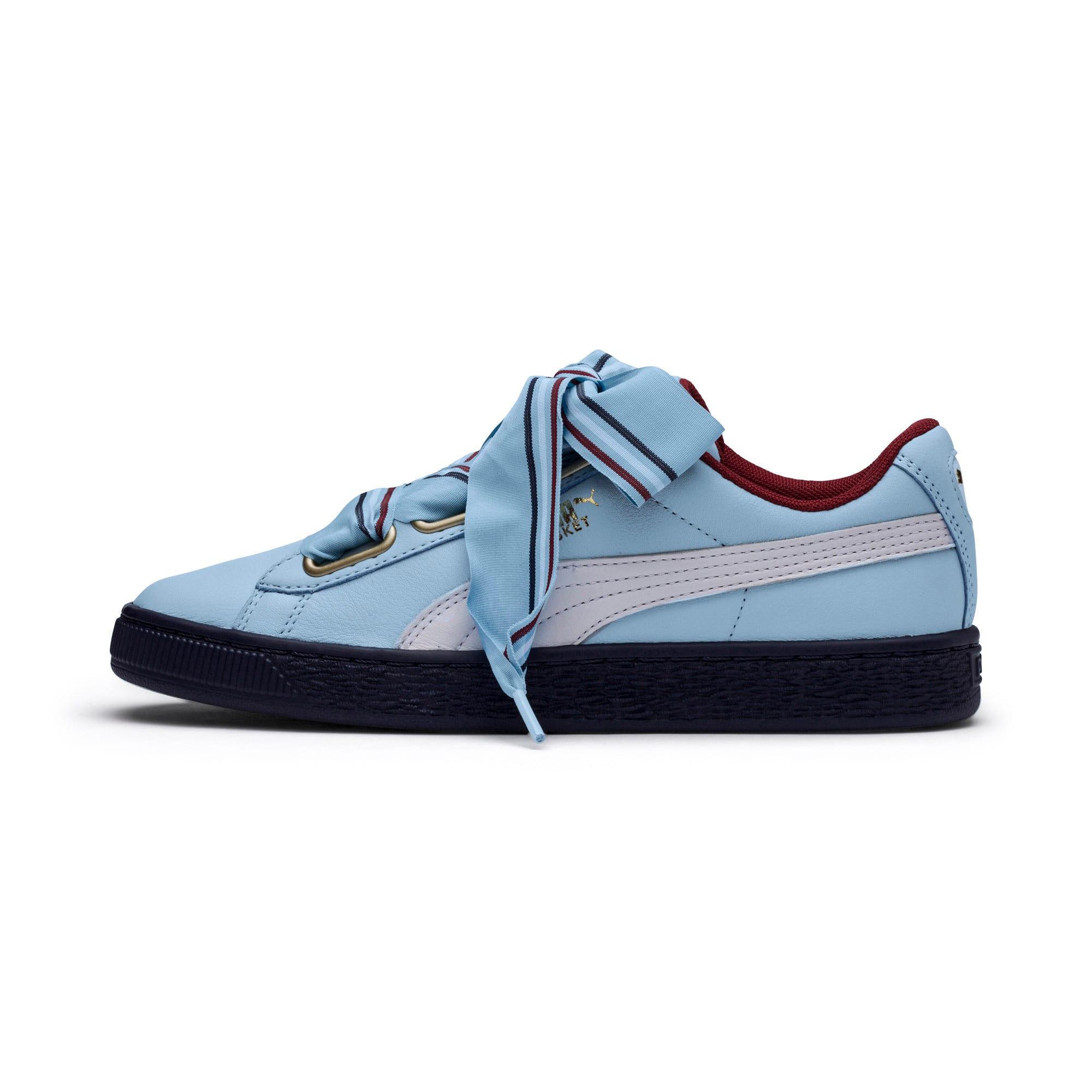 Thumbnail 1 of Basket Heart New School Women's Sneakers, CERULEAN-CERULEAN, medium
