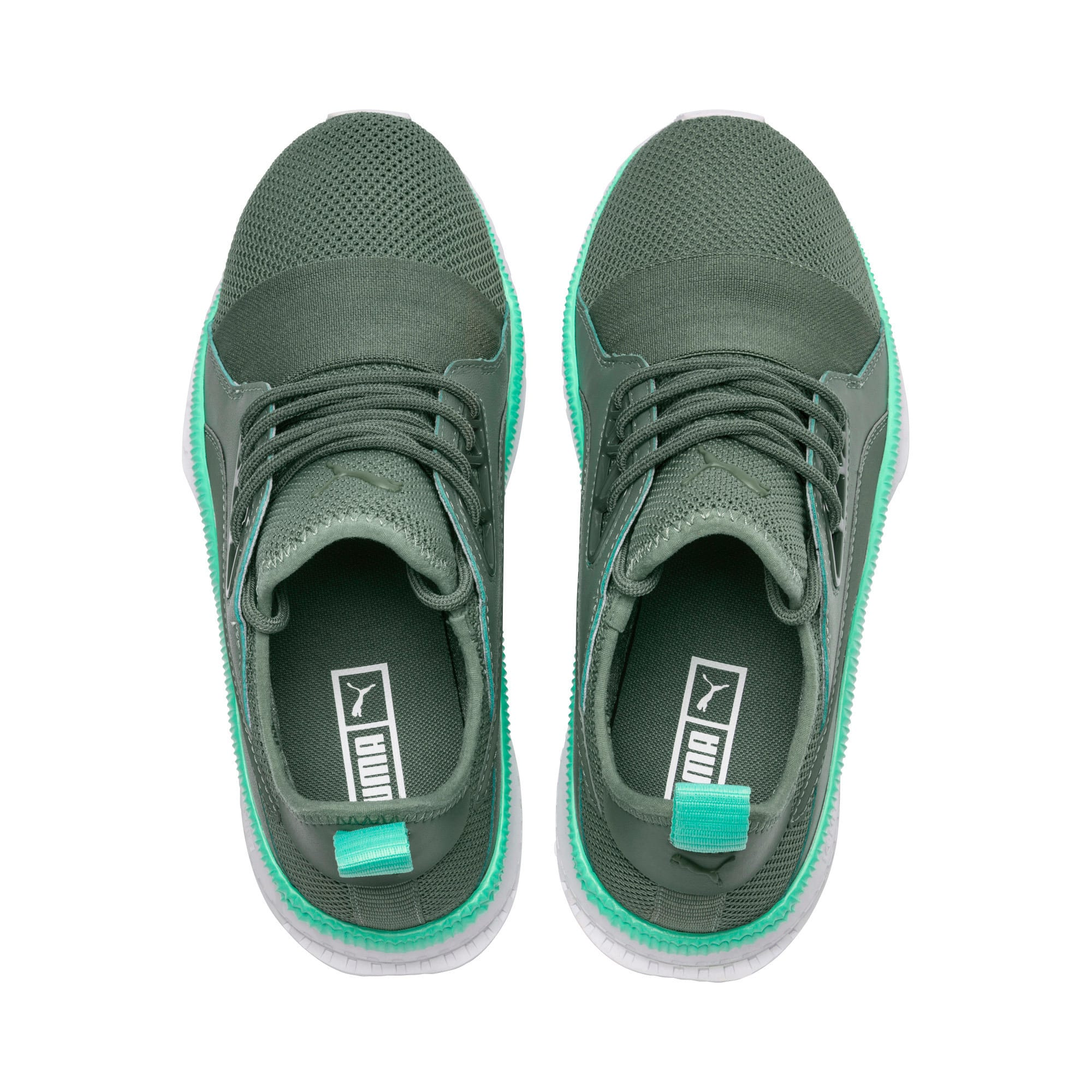 Thumbnail 6 of TSUGI Apex Jewel Street 2 Women's Sneakers, Laurel Wreath-Biscay Green, medium