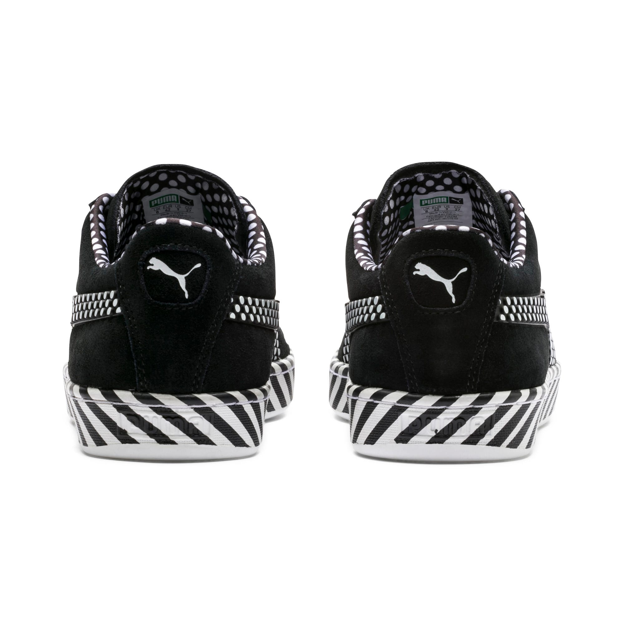 Thumbnail 4 of Suede Classic Pop Culture Sneakers, Puma Black-Puma White, medium