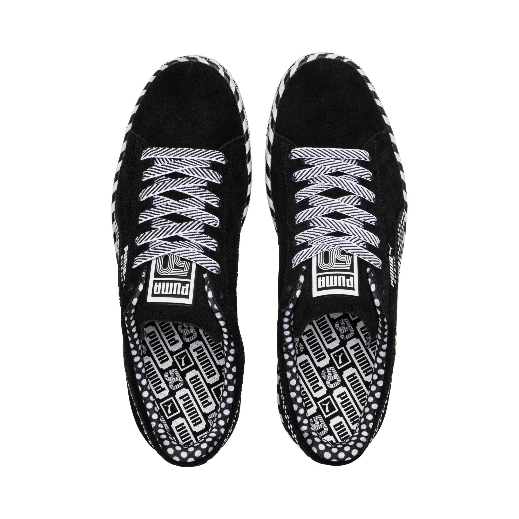 Thumbnail 7 of Suede Classic Pop Culture Sneakers, Puma Black-Puma White, medium