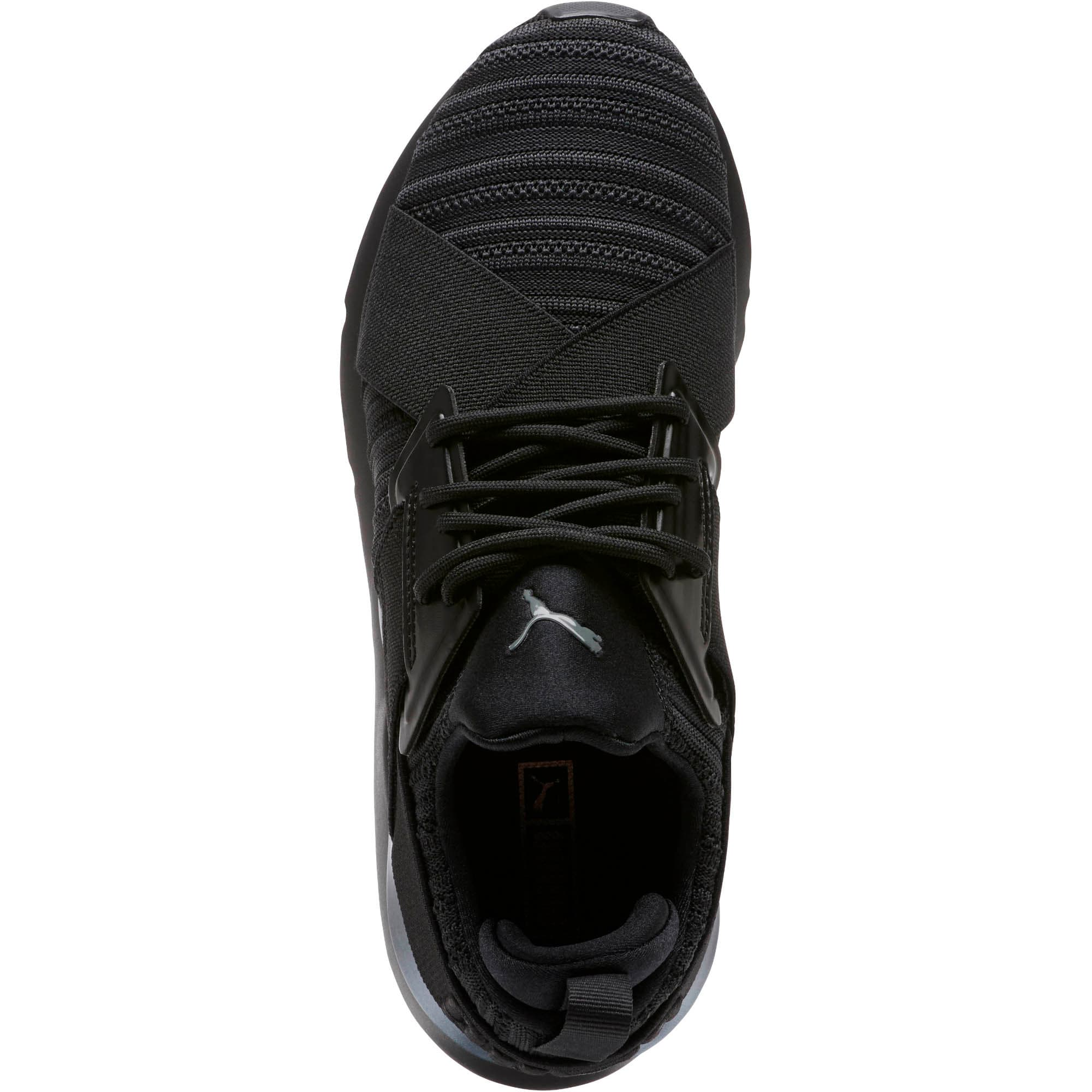 Thumbnail 5 of Muse Knit Women's Sneakers, Iron Gate-Puma Black, medium