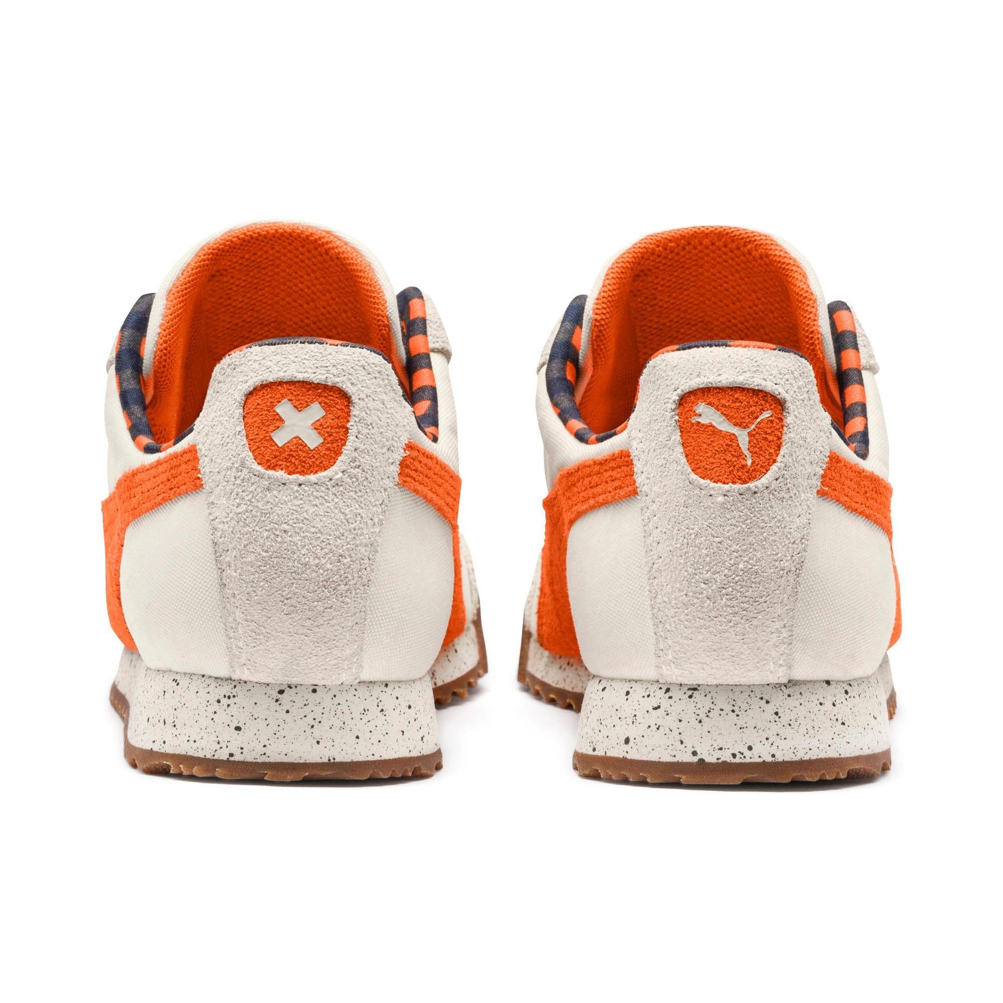 Thumbnail 4 of PUMA X TINYCOTTONS Roma Sneakers JR, White Asparagus-Orange-Blue, medium