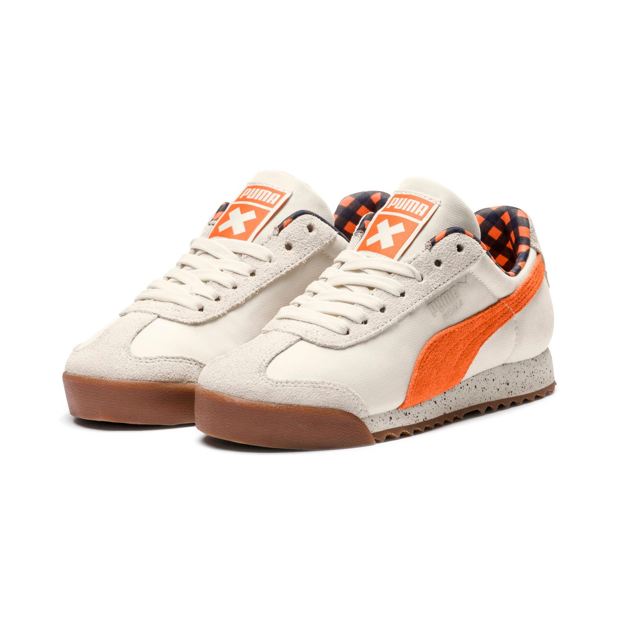 Thumbnail 2 of PUMA X TINYCOTTONS Roma Sneakers JR, White Asparagus-Orange-Blue, medium