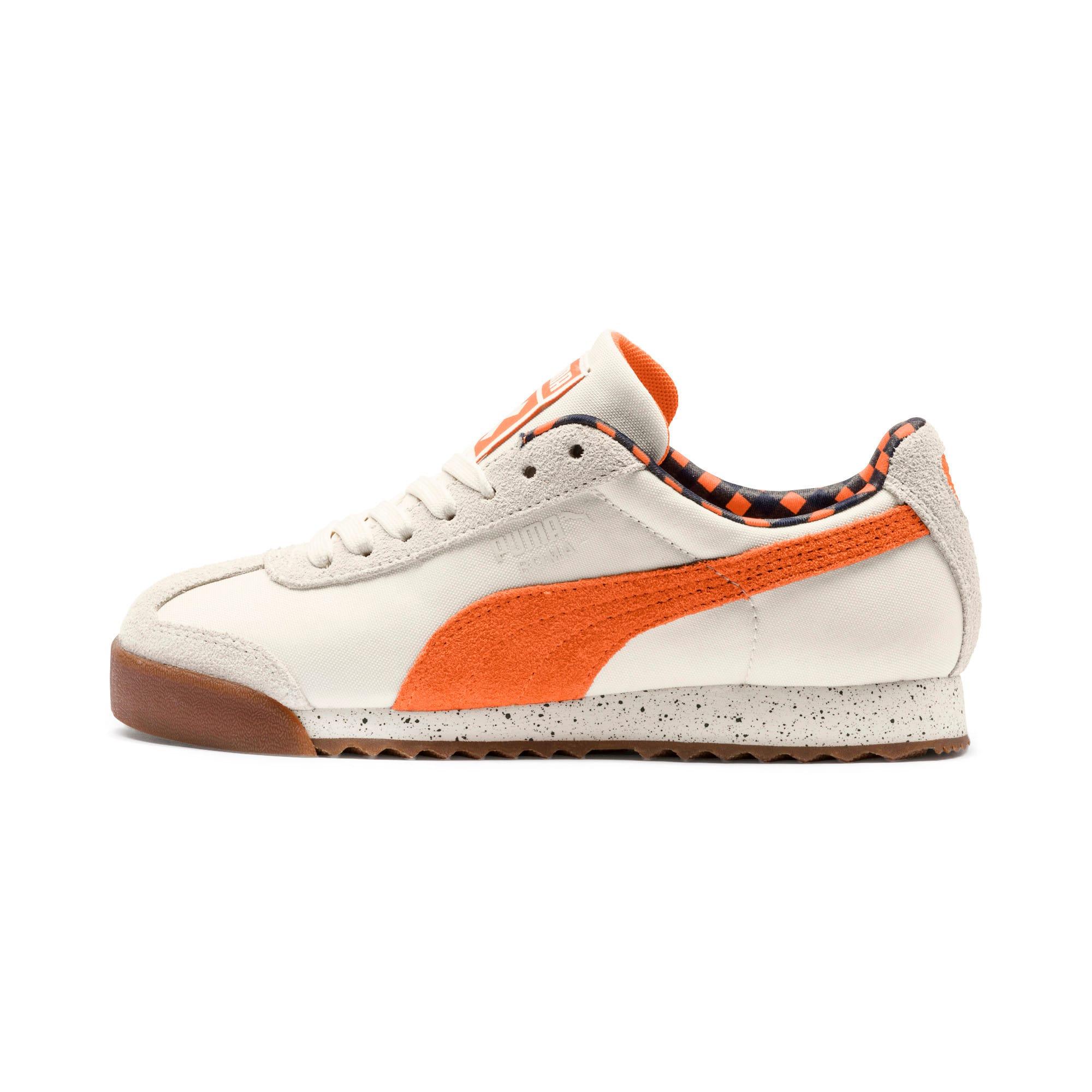 Thumbnail 1 of PUMA X TINYCOTTONS Roma Sneakers JR, White Asparagus-Orange-Blue, medium