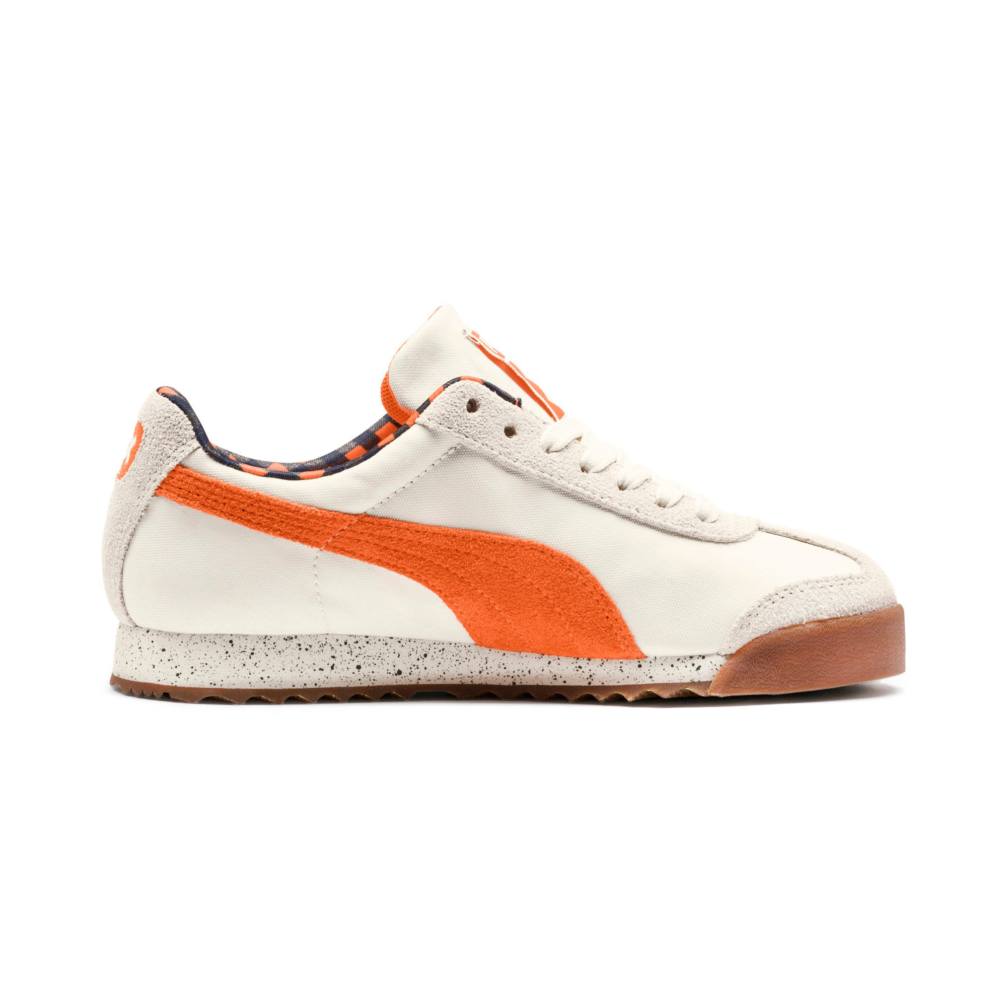 Thumbnail 5 of PUMA X TINYCOTTONS Roma Sneakers JR, White Asparagus-Orange-Blue, medium
