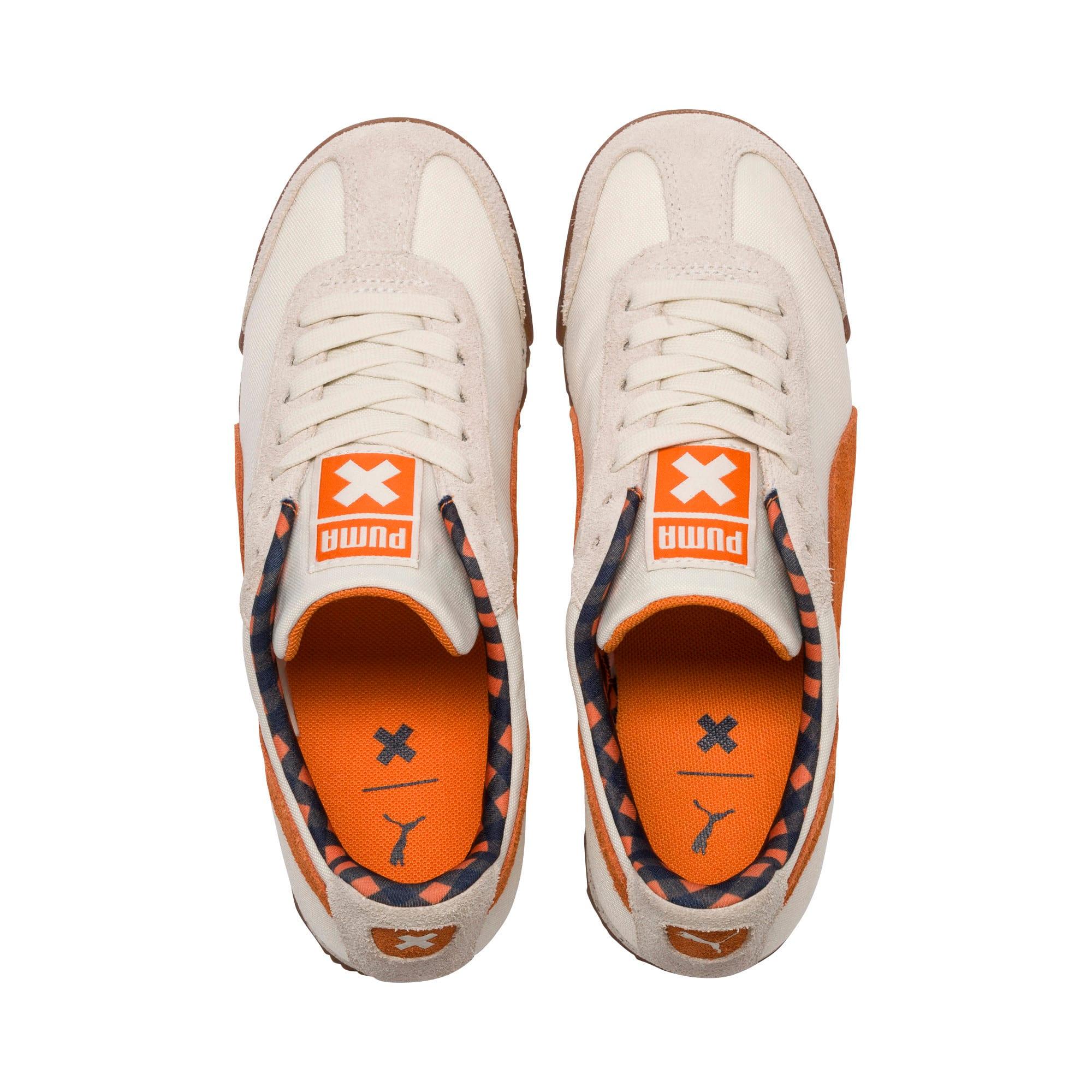 Thumbnail 6 of PUMA X TINYCOTTONS Roma Sneakers JR, White Asparagus-Orange-Blue, medium