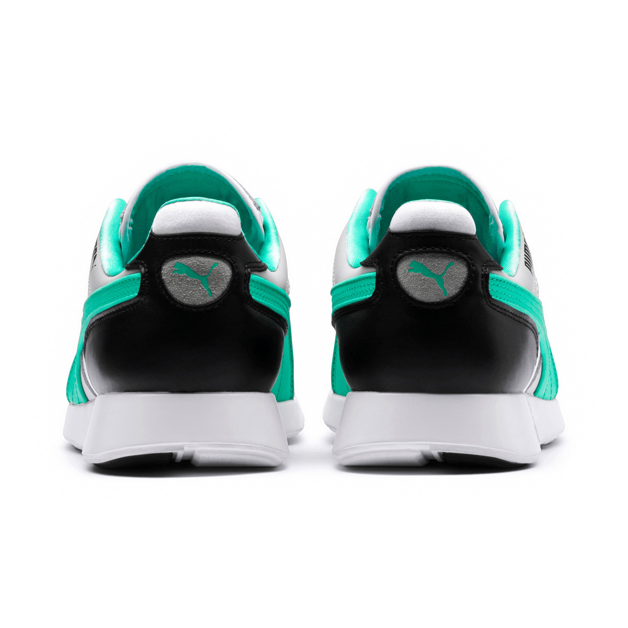 Thumbnail 4 of RS-100 Re-Invention Sneakers, GrayViolet-BiscayGreen-White, medium