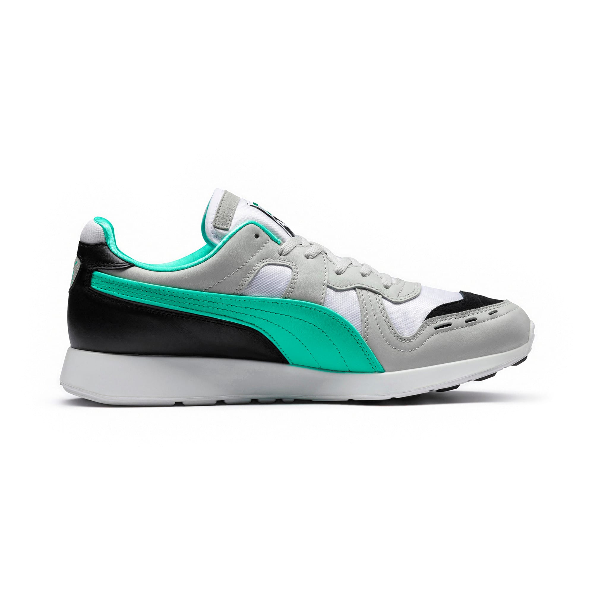 Thumbnail 5 of RS-100 Re-Invention Sneakers, GrayViolet-BiscayGreen-White, medium