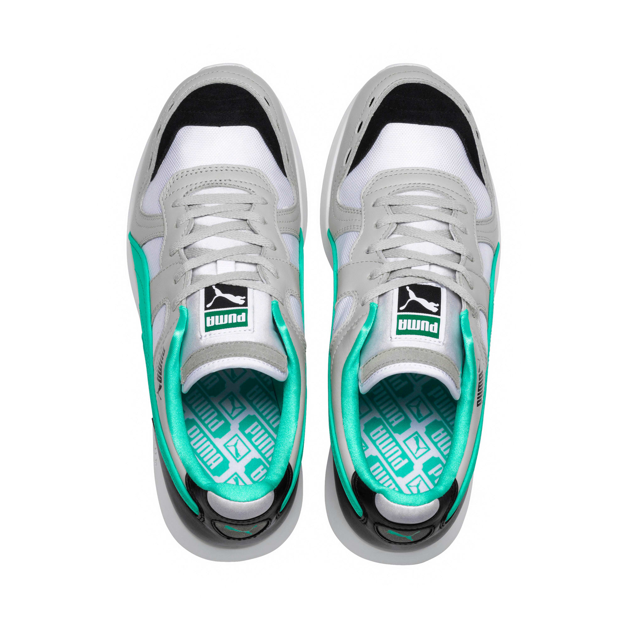 Thumbnail 6 of RS-100 Re-Invention Sneakers, GrayViolet-BiscayGreen-White, medium