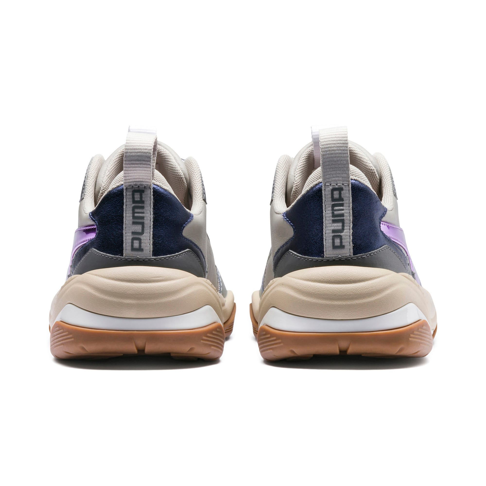 Thumbnail 4 of Thunder Electric Women's Sneakers, White-Pink Lavender-Cement, medium
