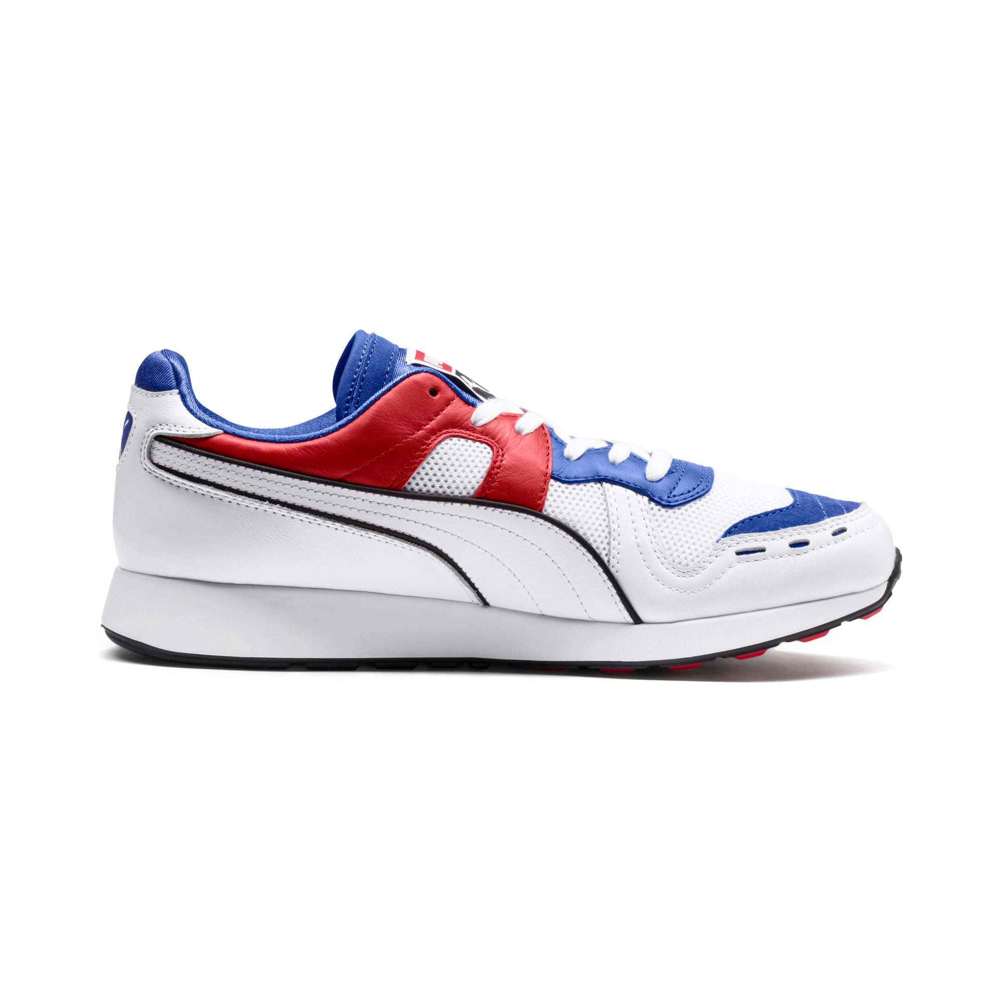 Thumbnail 5 of RS-100 Sound Men's Sneakers, Dazzlin Blu-HghRiskRed-White, medium