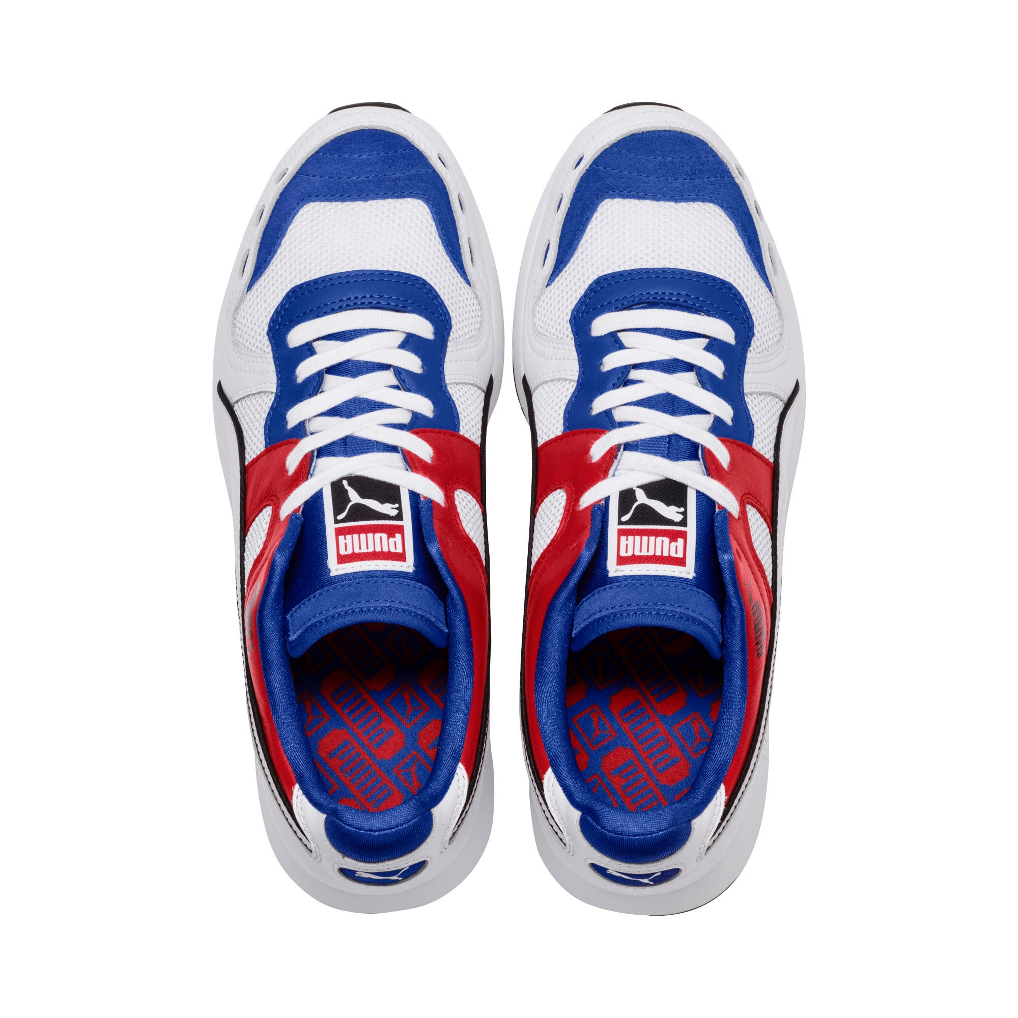 Thumbnail 6 of RS-100 Sound Men's Sneakers, Dazzlin Blu-HghRiskRed-White, medium
