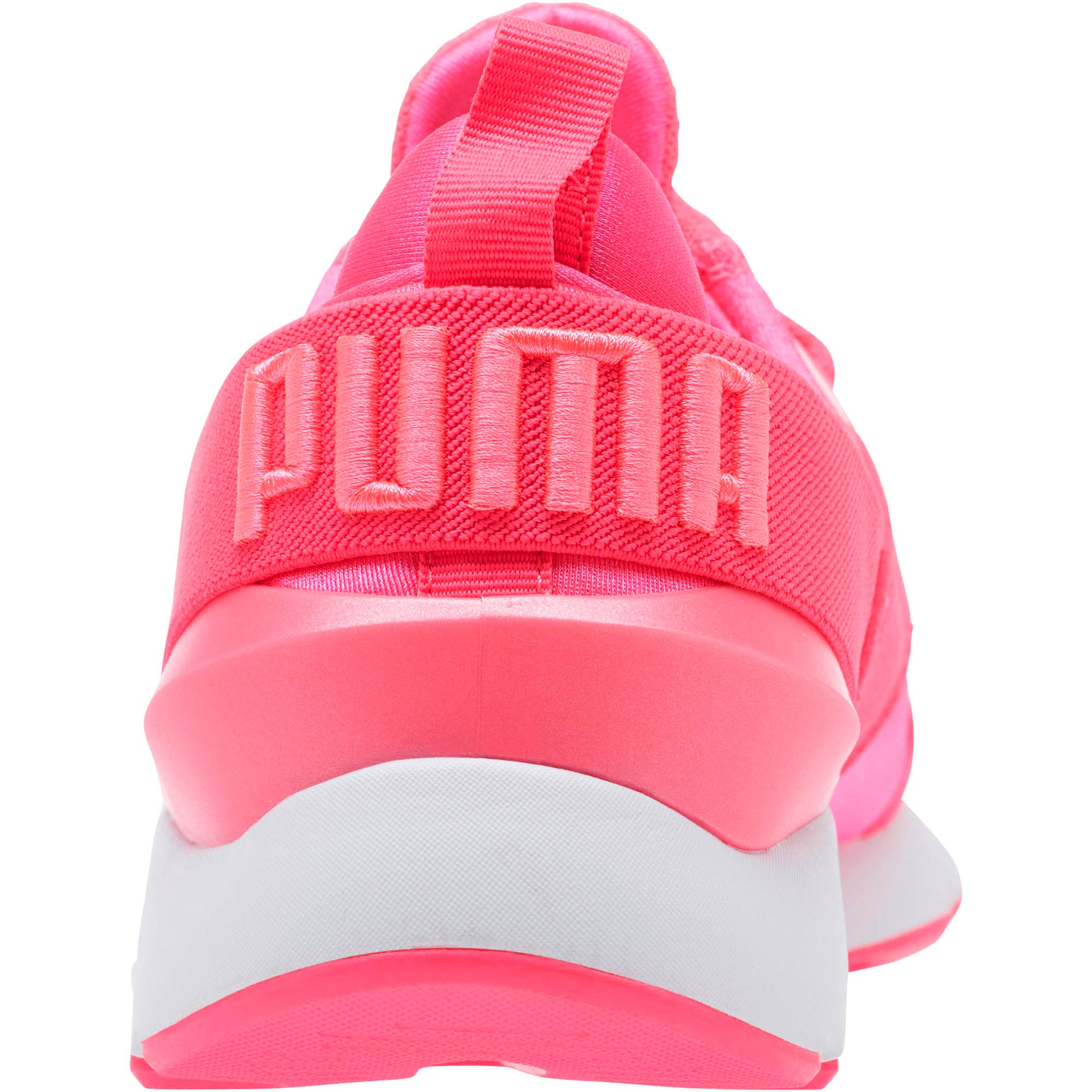 Thumbnail 4 of Muse Satin EP Pearl Women's Sneakers, KNOCKOUT PINK, medium