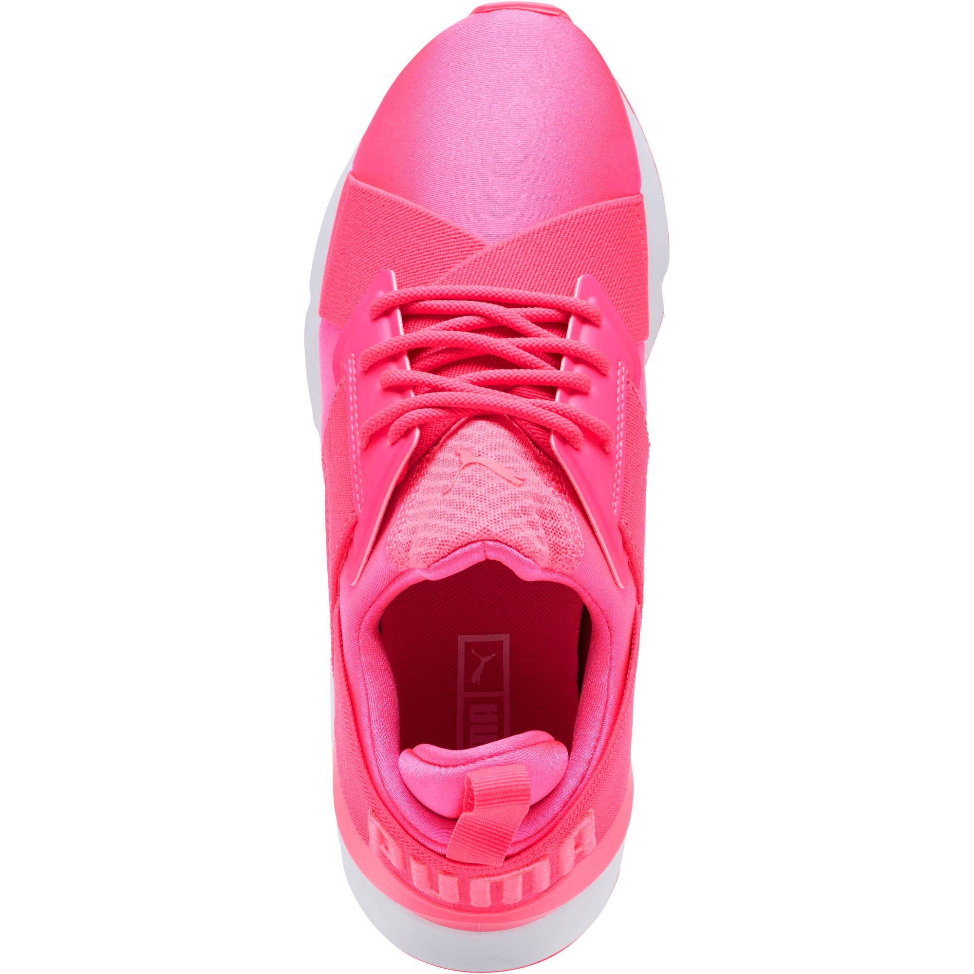 Thumbnail 5 of Muse Satin EP Pearl Women's Sneakers, KNOCKOUT PINK, medium
