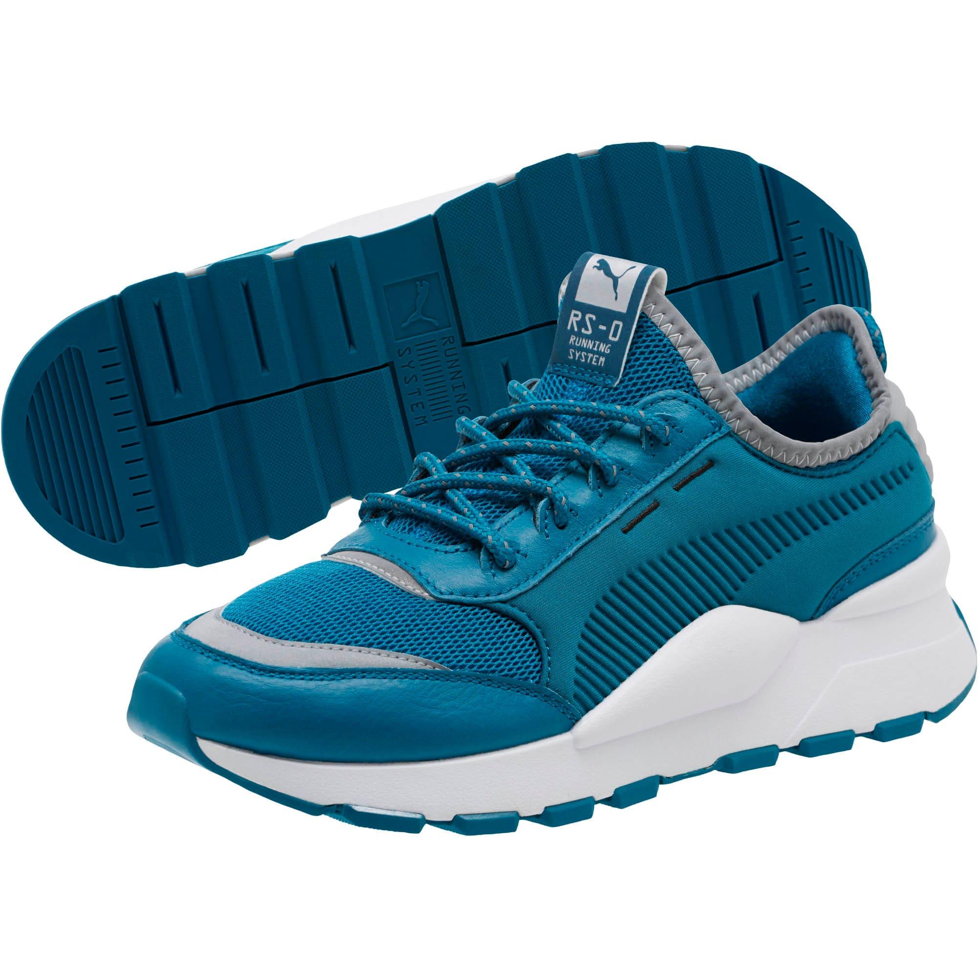 Thumbnail 2 of RS-0 Optic Pop Women's Sneakers, Corsair-Puma White, medium