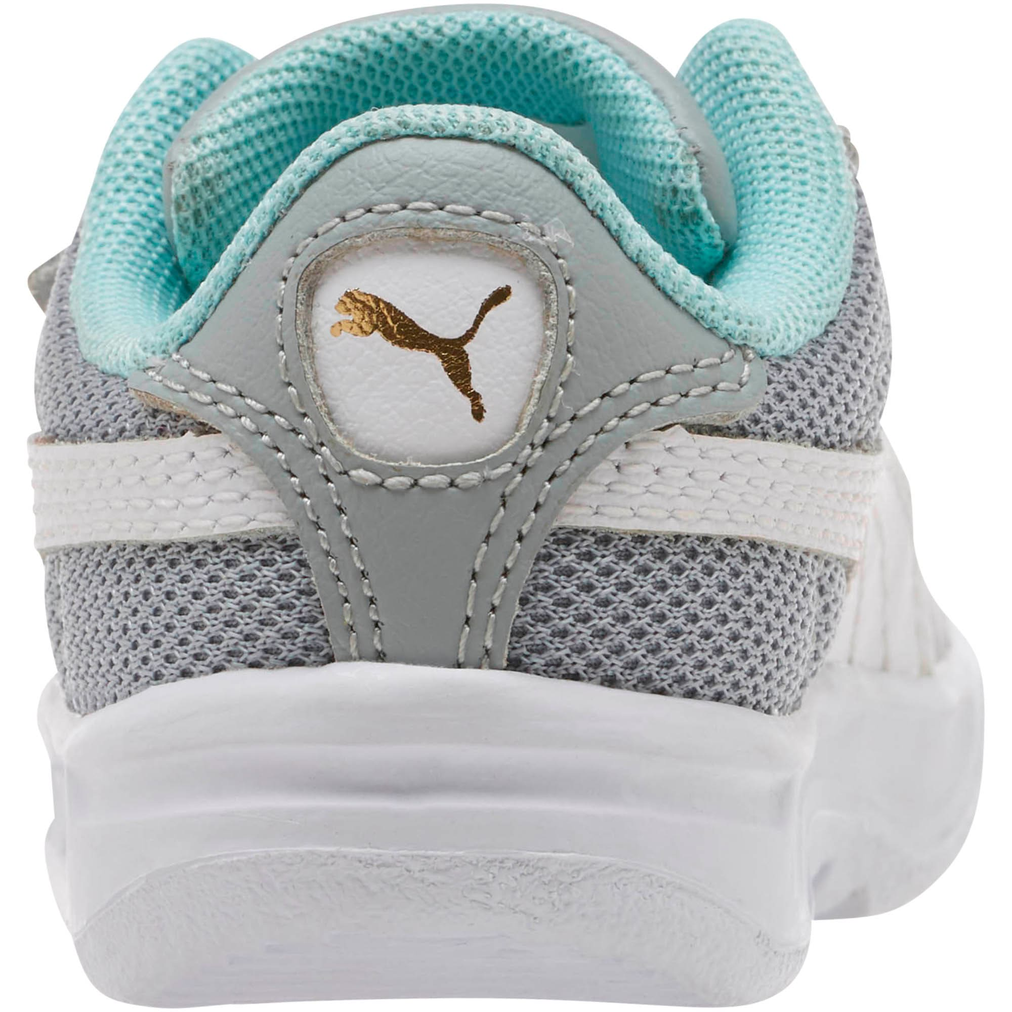 Thumbnail 4 of California Casual Toddler Shoes, Quarry-Puma White-Gold, medium