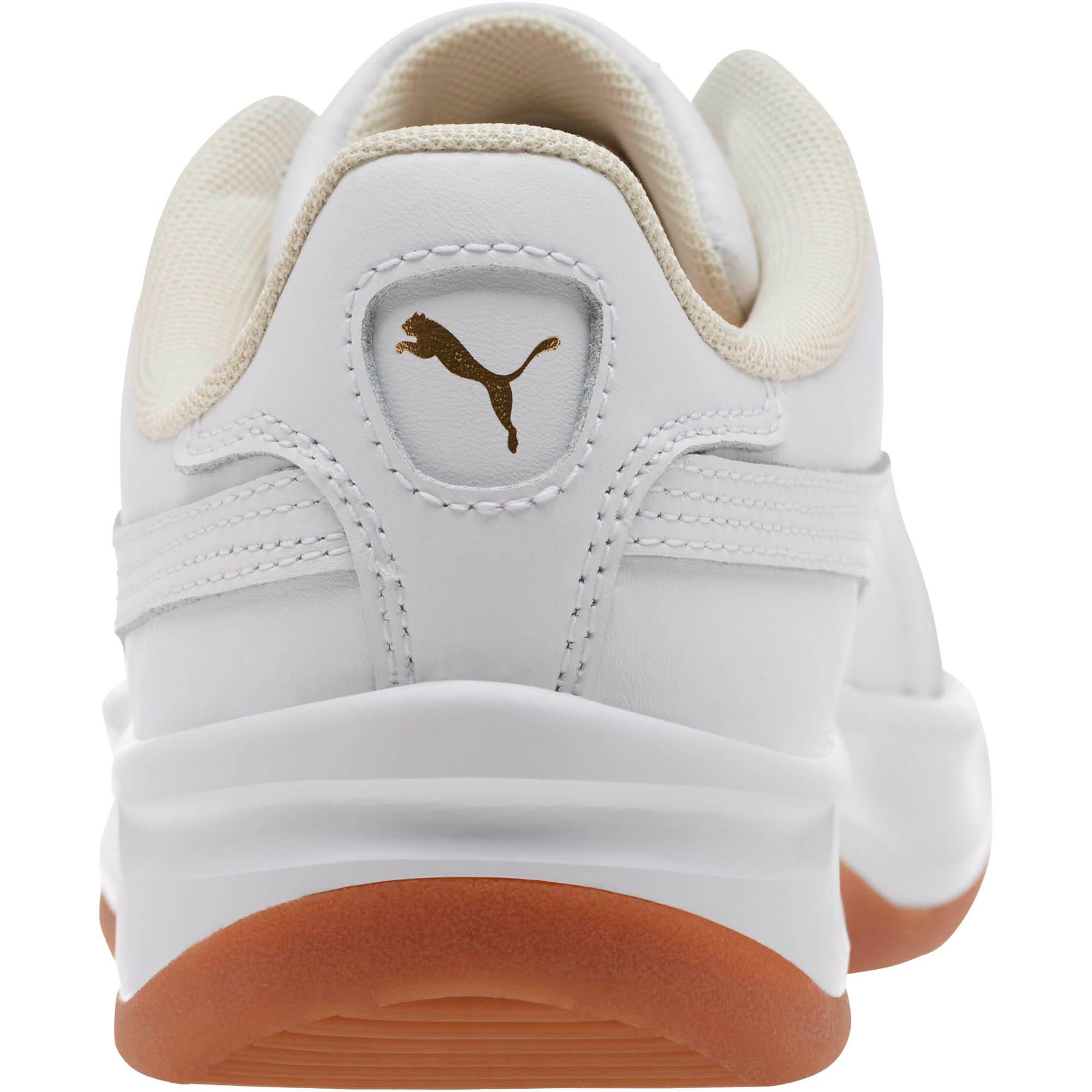 Thumbnail 4 of California Exotic Women's Sneakers, Whisper White- White- Gold, medium