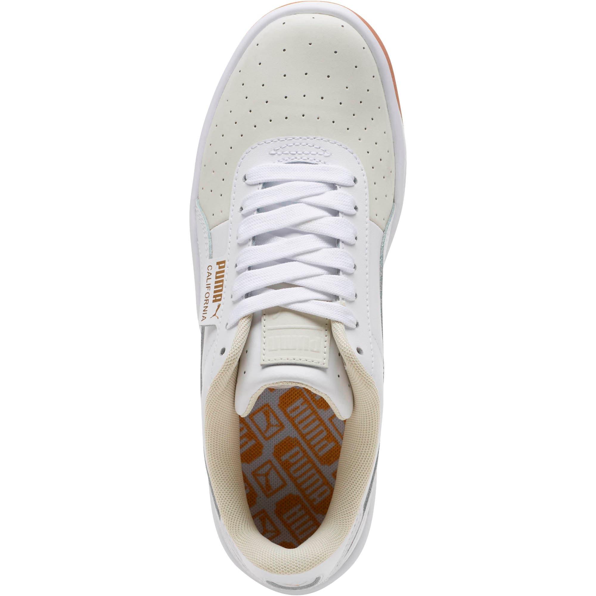 Thumbnail 5 of California Exotic Women's Sneakers, Whisper White- White- Gold, medium