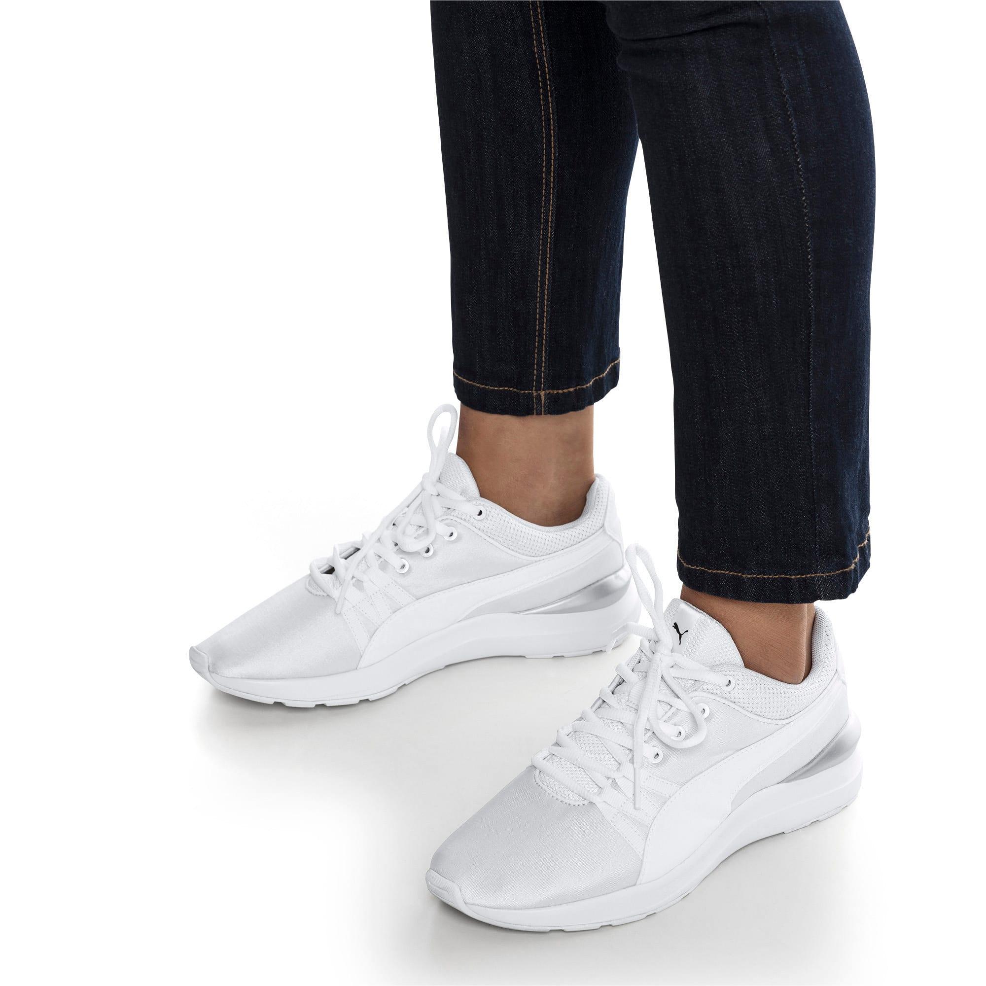 Thumbnail 7 of Adela Women's Sneakers, Puma White-Puma White, medium