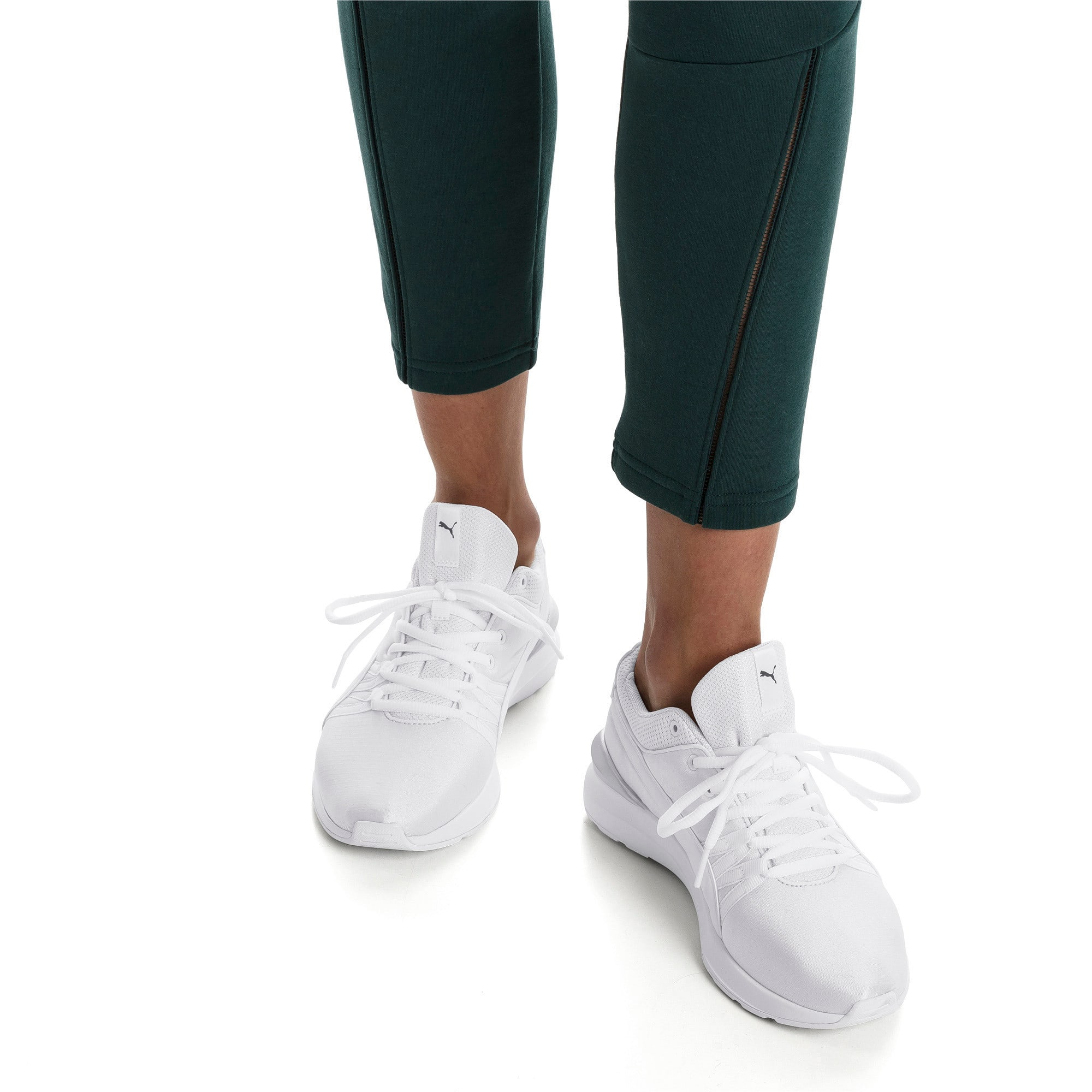 Thumbnail 8 of Adela Women's Sneakers, Puma White-Puma White, medium