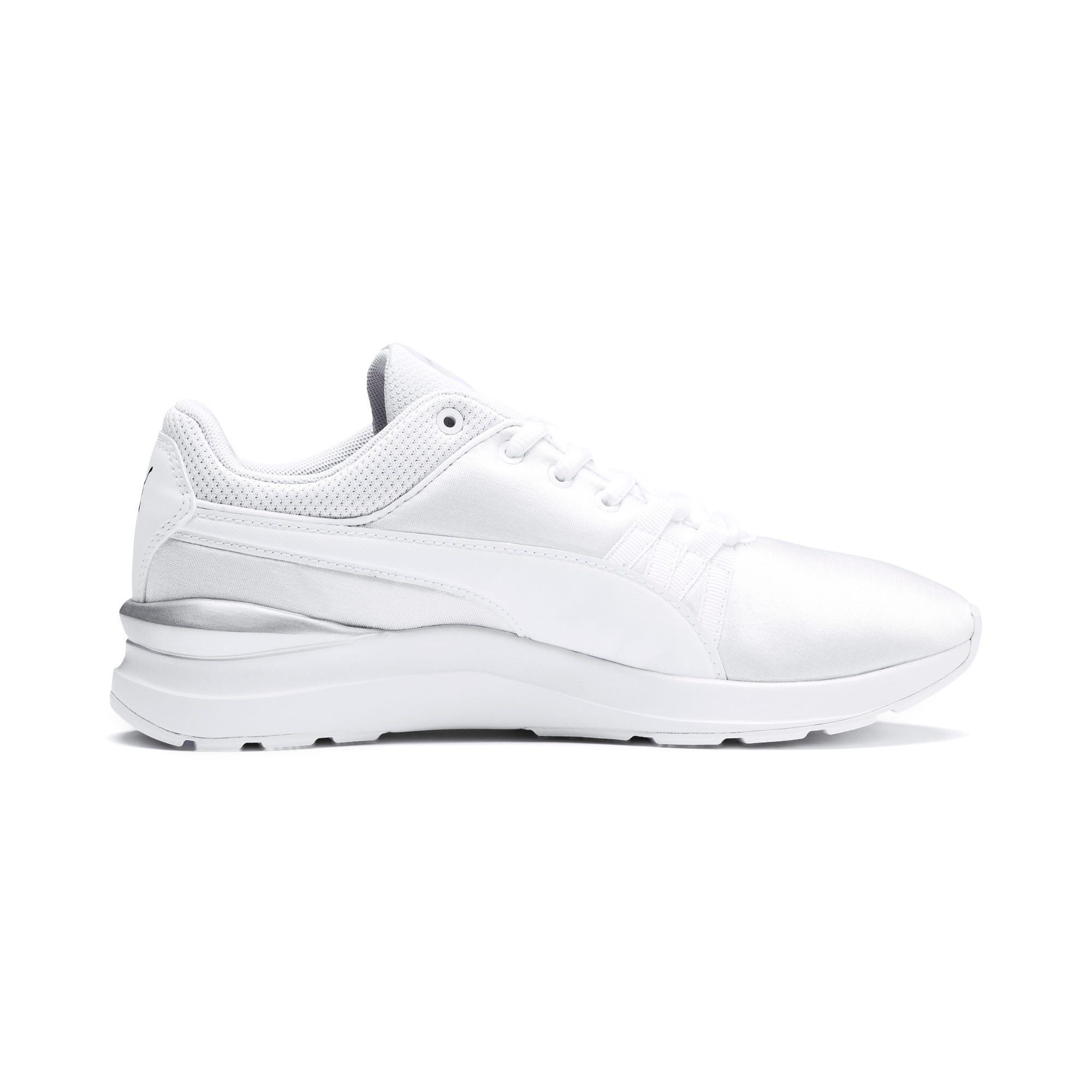 Thumbnail 5 of Adela Women's Sneakers, Puma White-Puma White, medium
