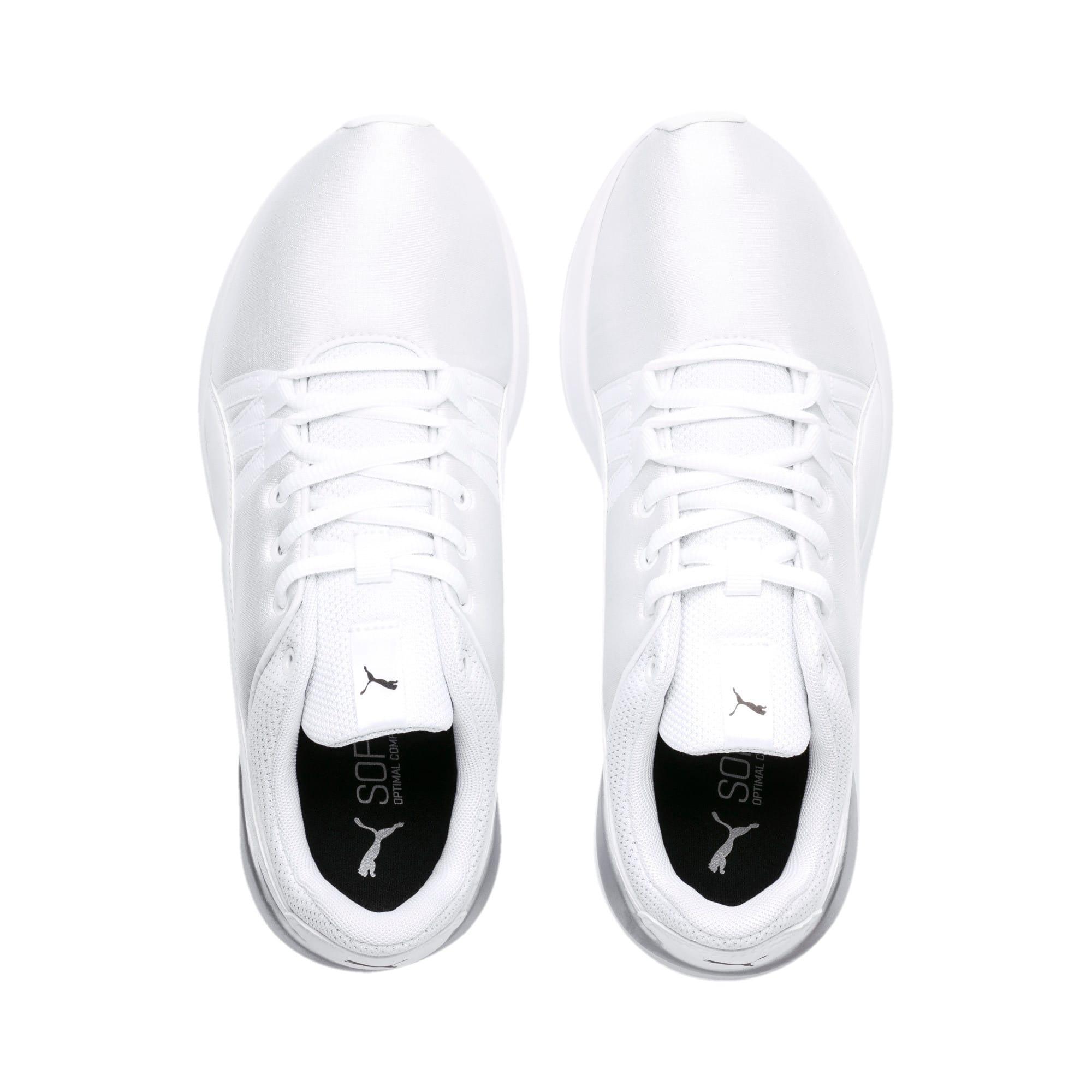 Thumbnail 6 of Adela Women's Sneakers, Puma White-Puma White, medium