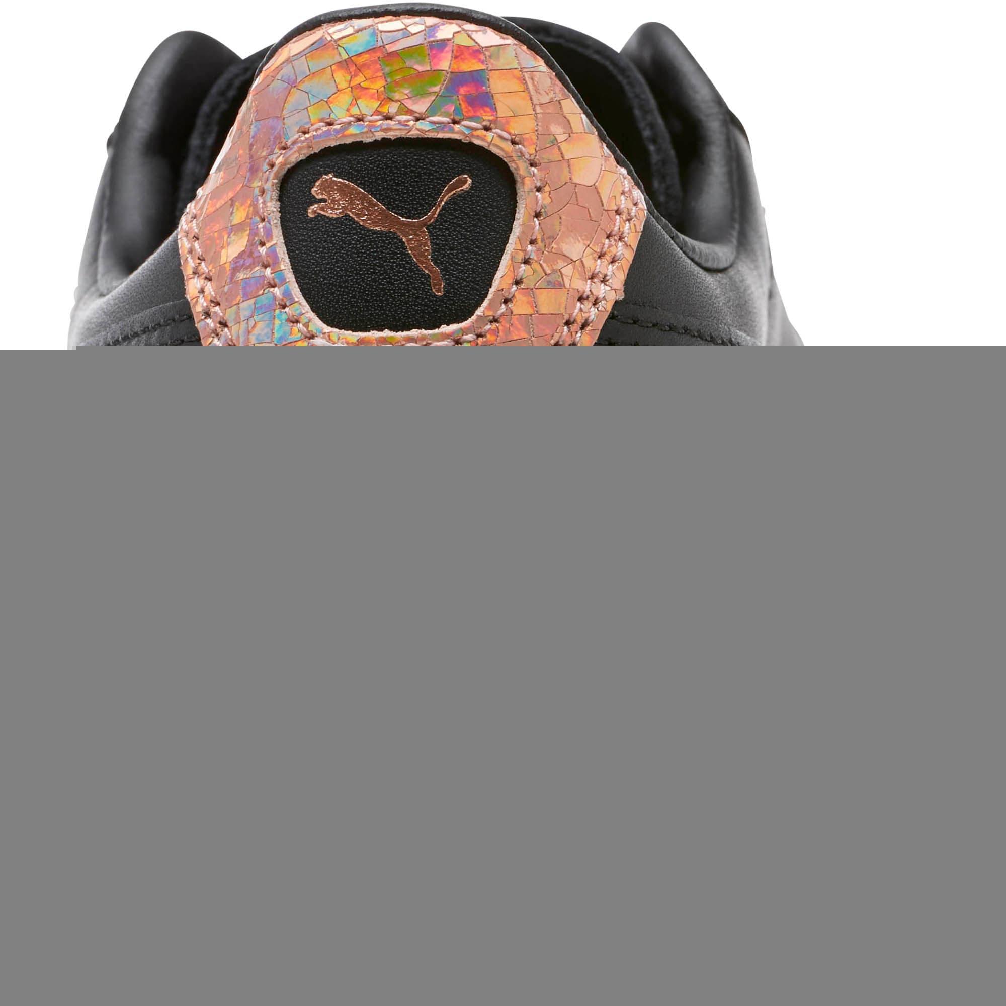 Thumbnail 4 of Basket Platform RG Women's Sneakers, Puma Black-Rose Gold, medium