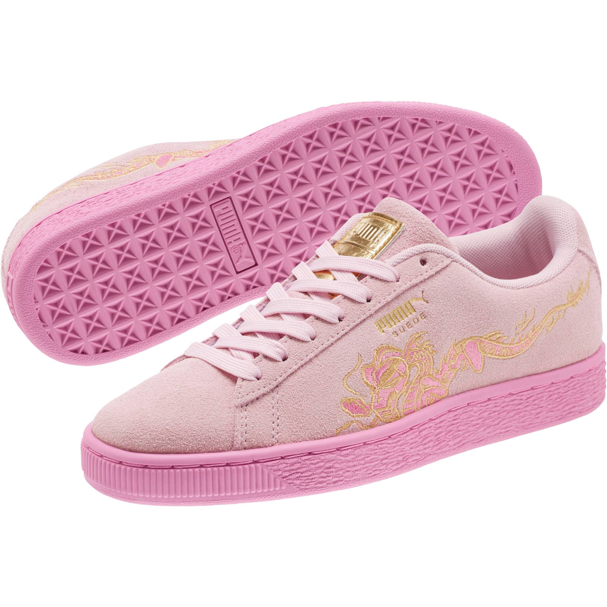 Thumbnail 2 of Suede Dragon Sneakers JR, Winsome Orchid-Orchid, medium