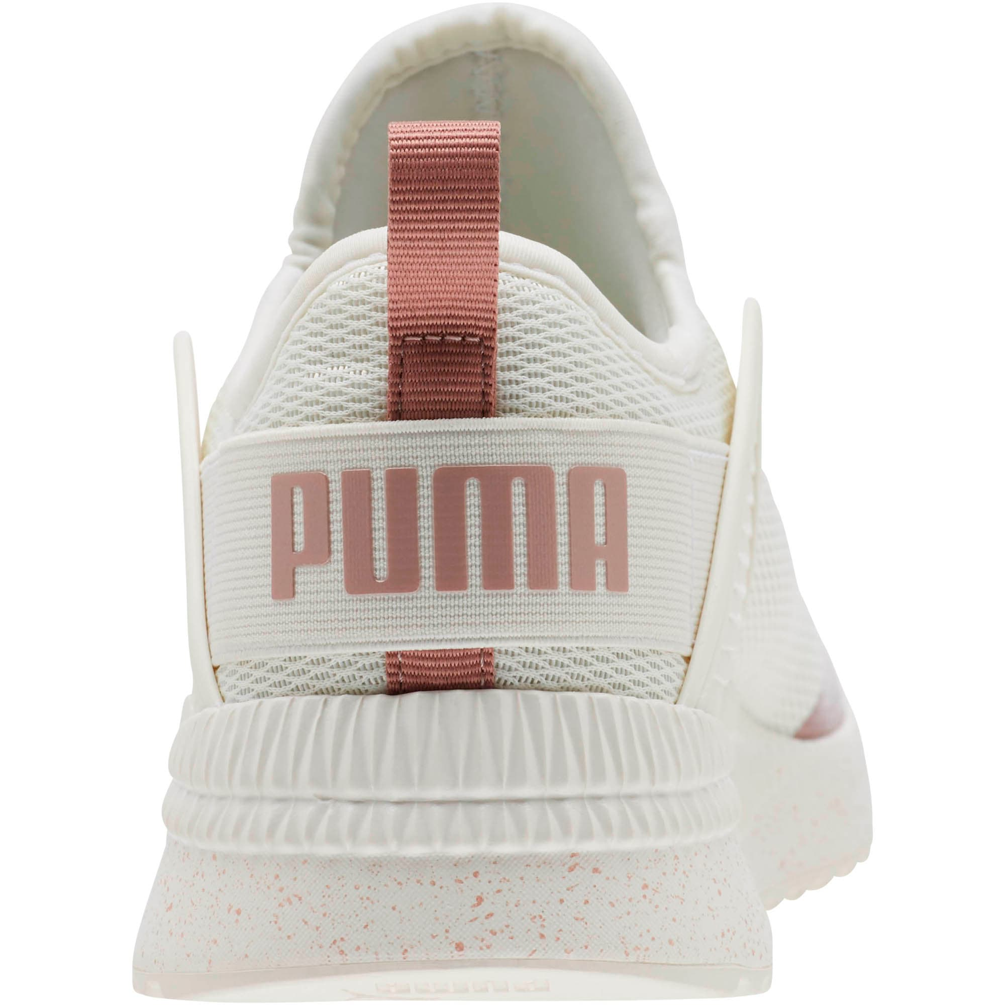 Thumbnail 4 of Pacer Nex tCage Metallic Speckle Women's Sneakers, Whisper White-Rose Gold, medium