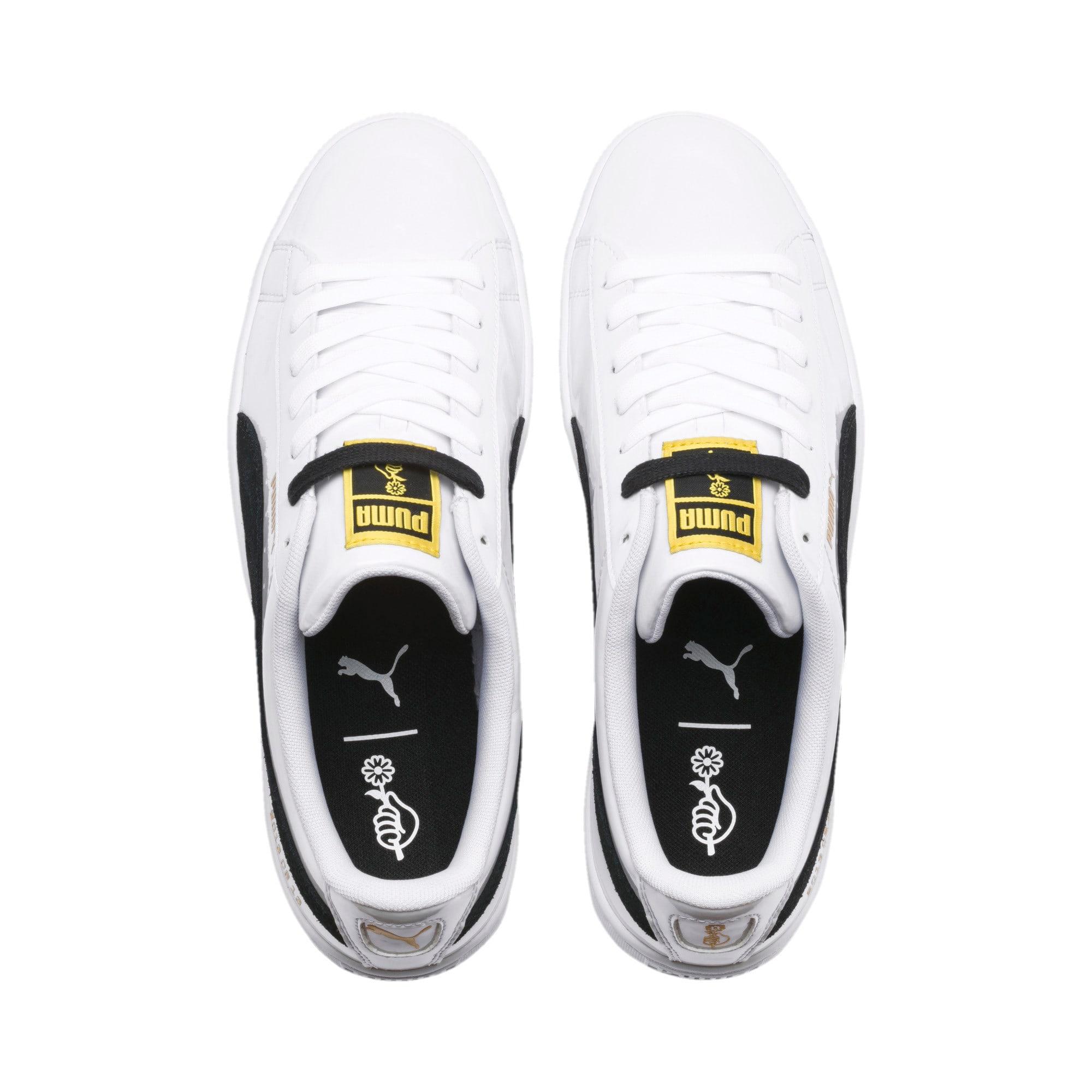 premium selection 366c6 e28a5 PUMA x BTS Basket Patent Sneakers