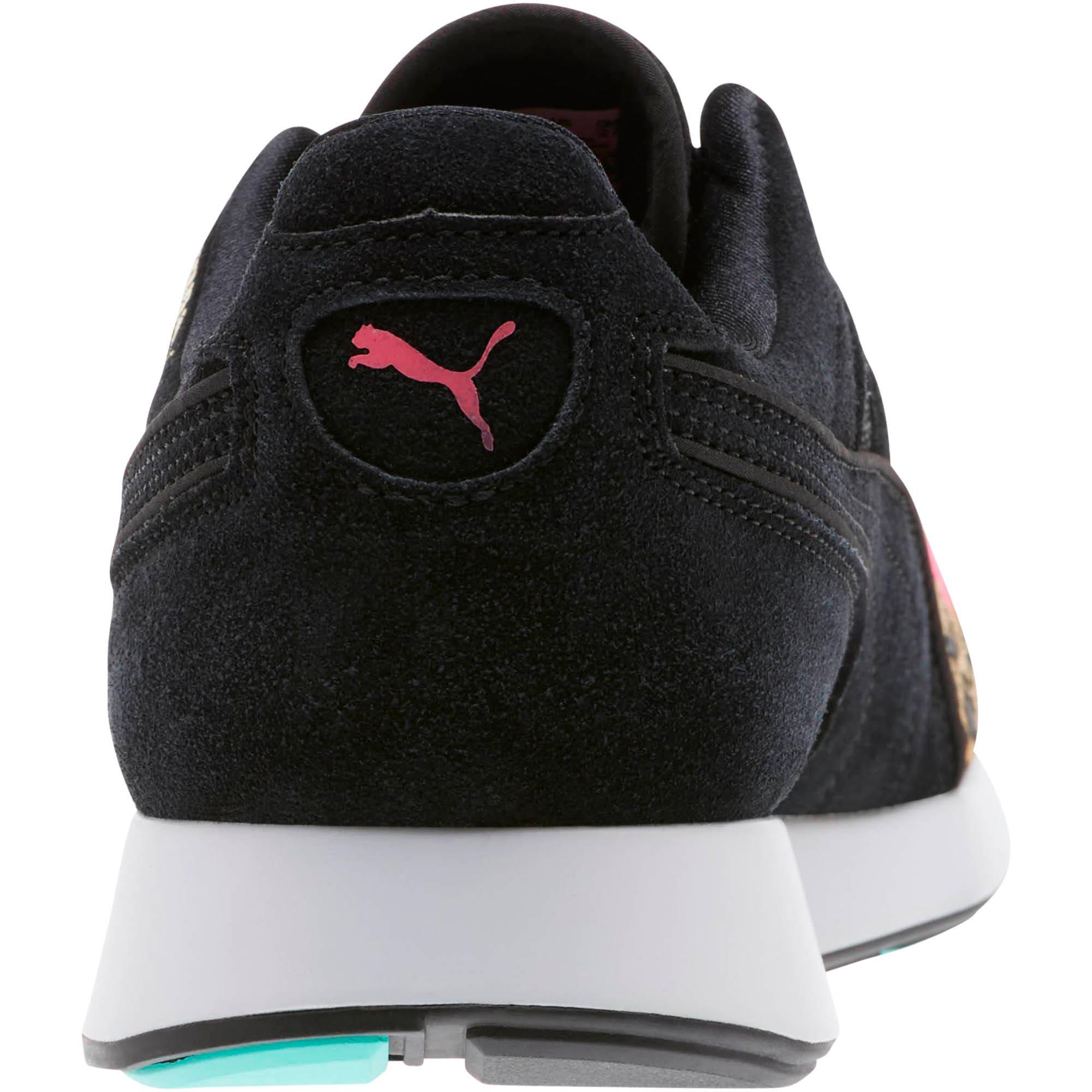 Thumbnail 4 of RS-100 Party Cheetah Sneakers, KNOCKOUT PINK-Puma Black, medium