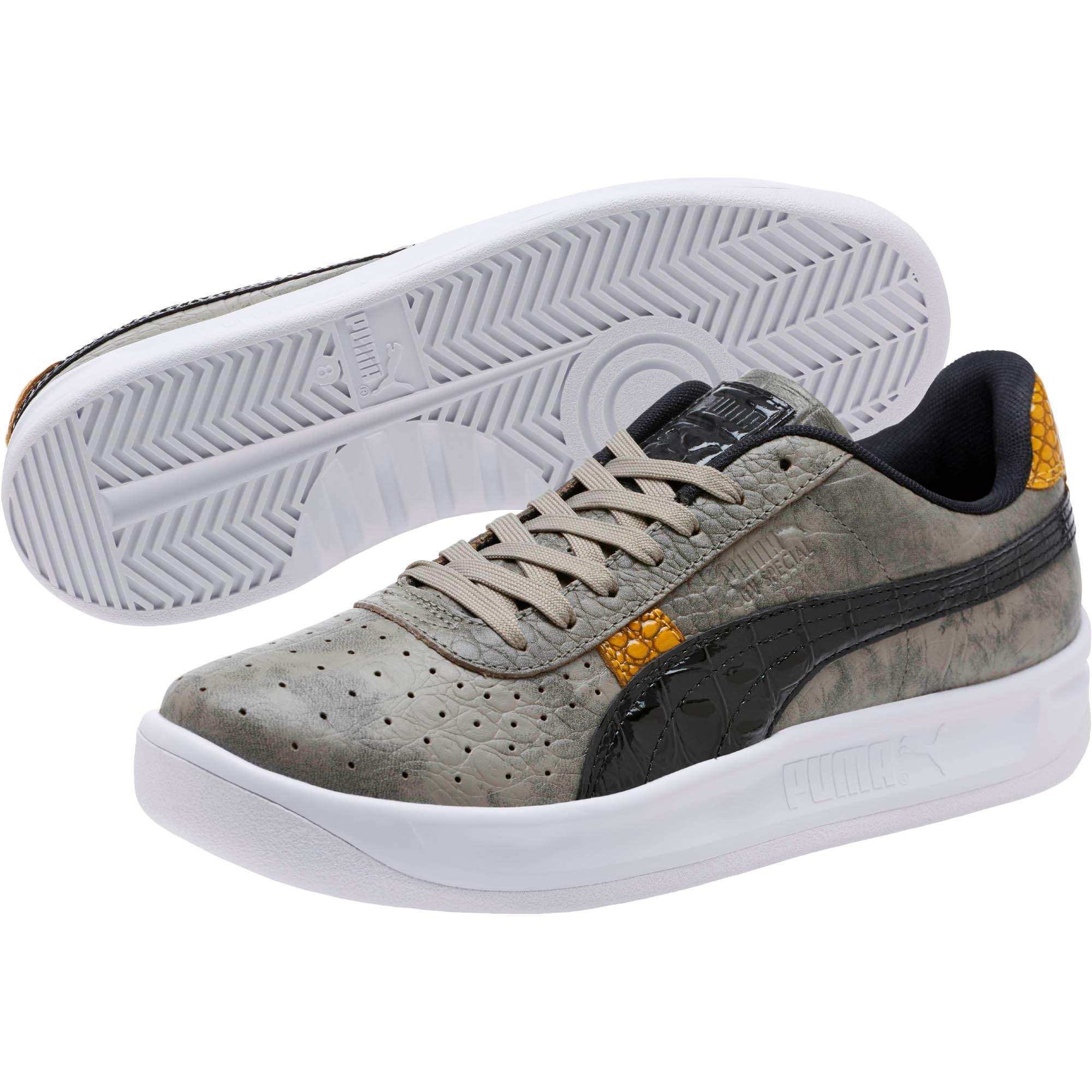Thumbnail 2 of GV Special+ Gator Gray Men's Sneakers, Elephant Skin-Puma Black, medium