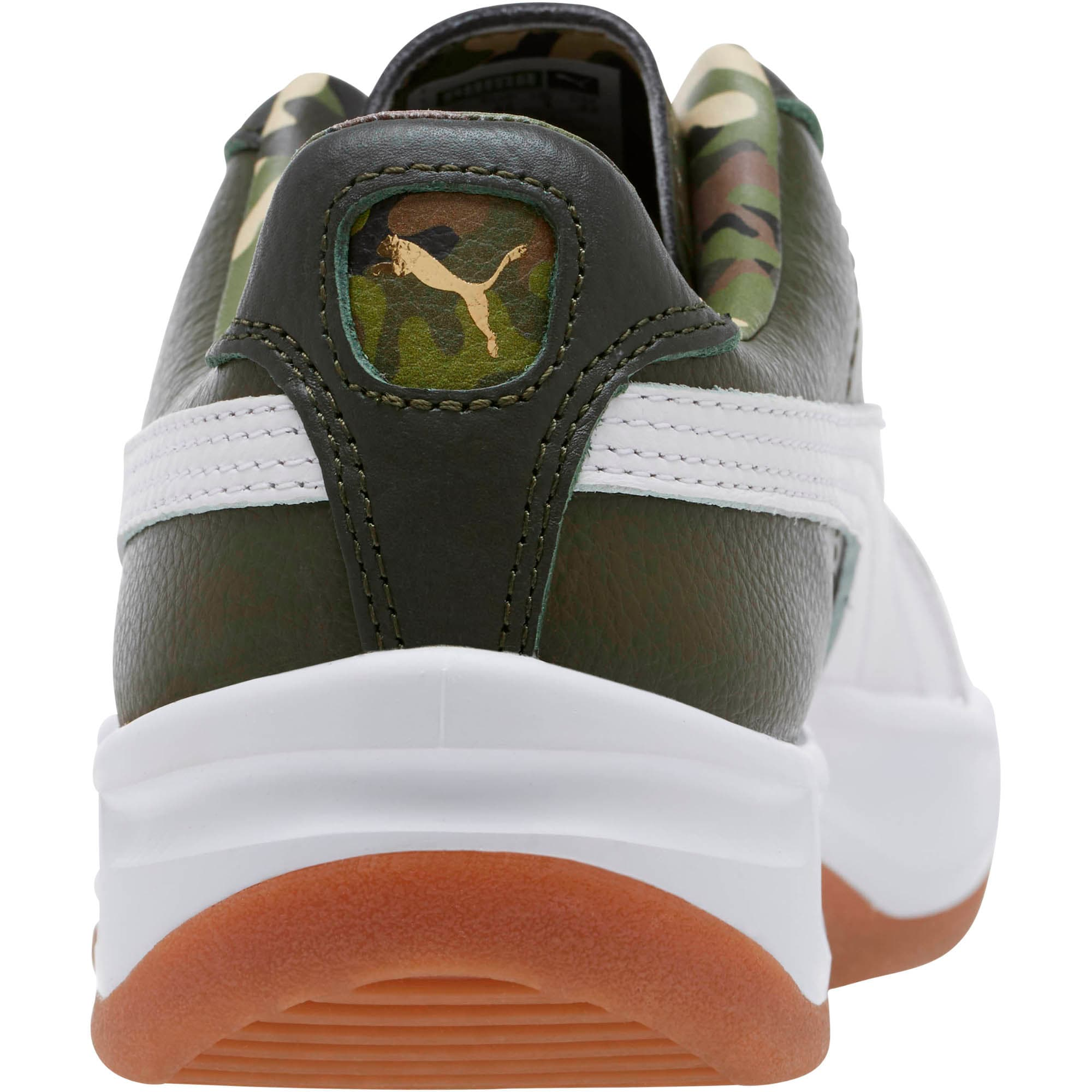 Thumbnail 4 of GV Special Wild Camo Sneakers, Night-Puma White- Gold, medium