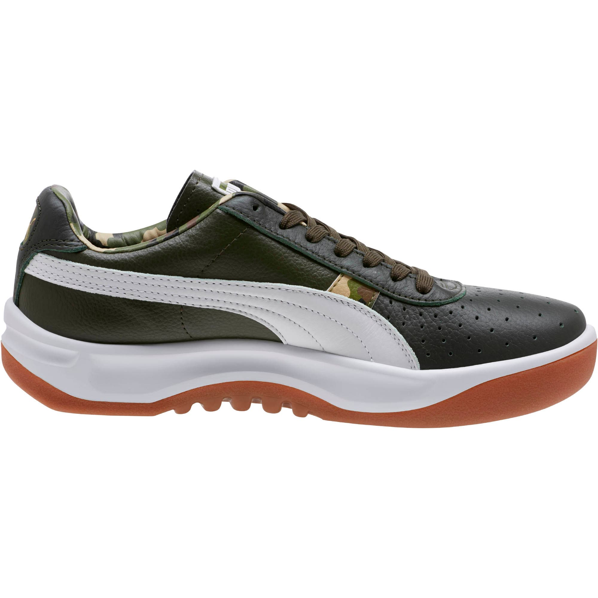Thumbnail 3 of GV Special Wild Camo Sneakers, Night-Puma White- Gold, medium