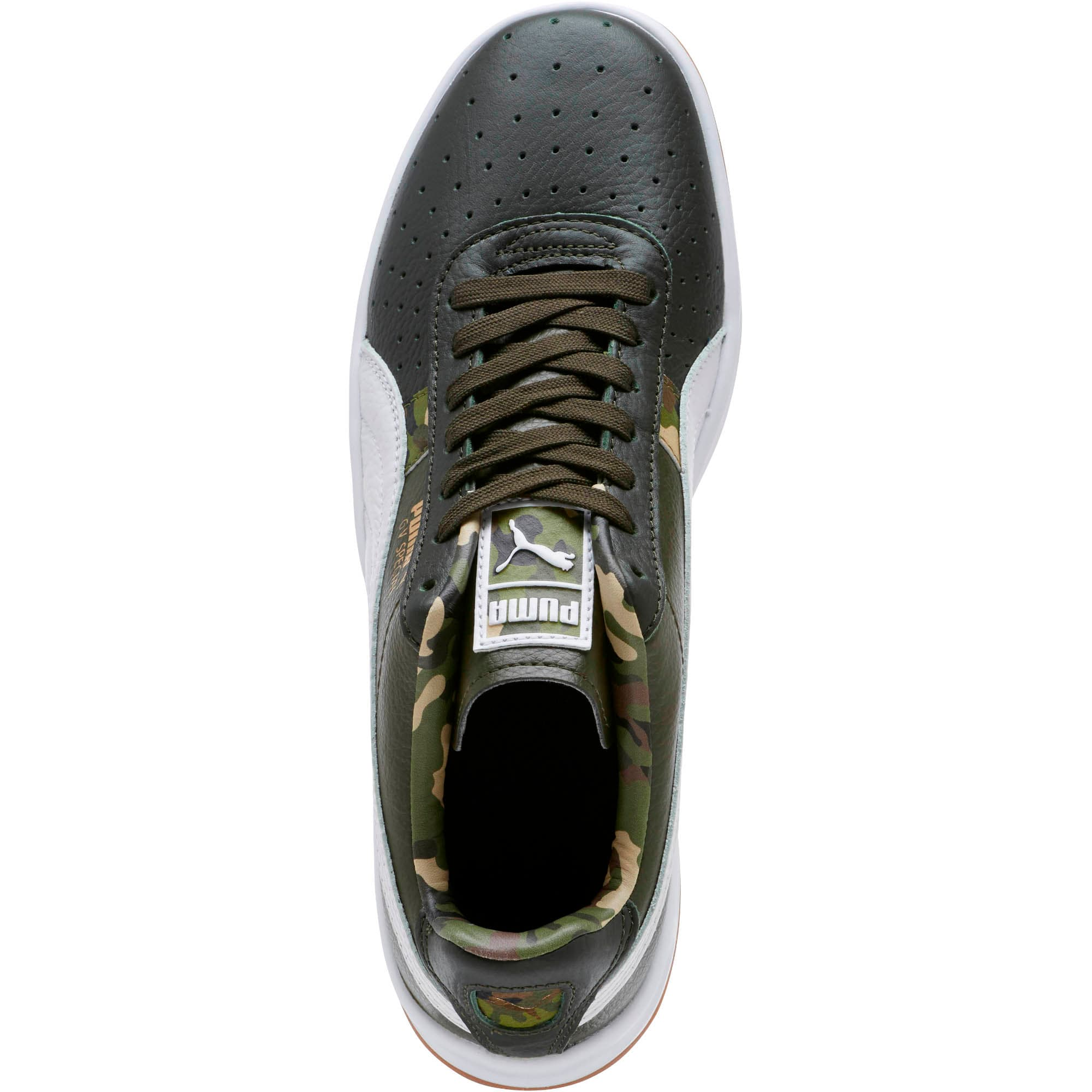 Thumbnail 5 of GV Special Wild Camo Sneakers, Night-Puma White- Gold, medium