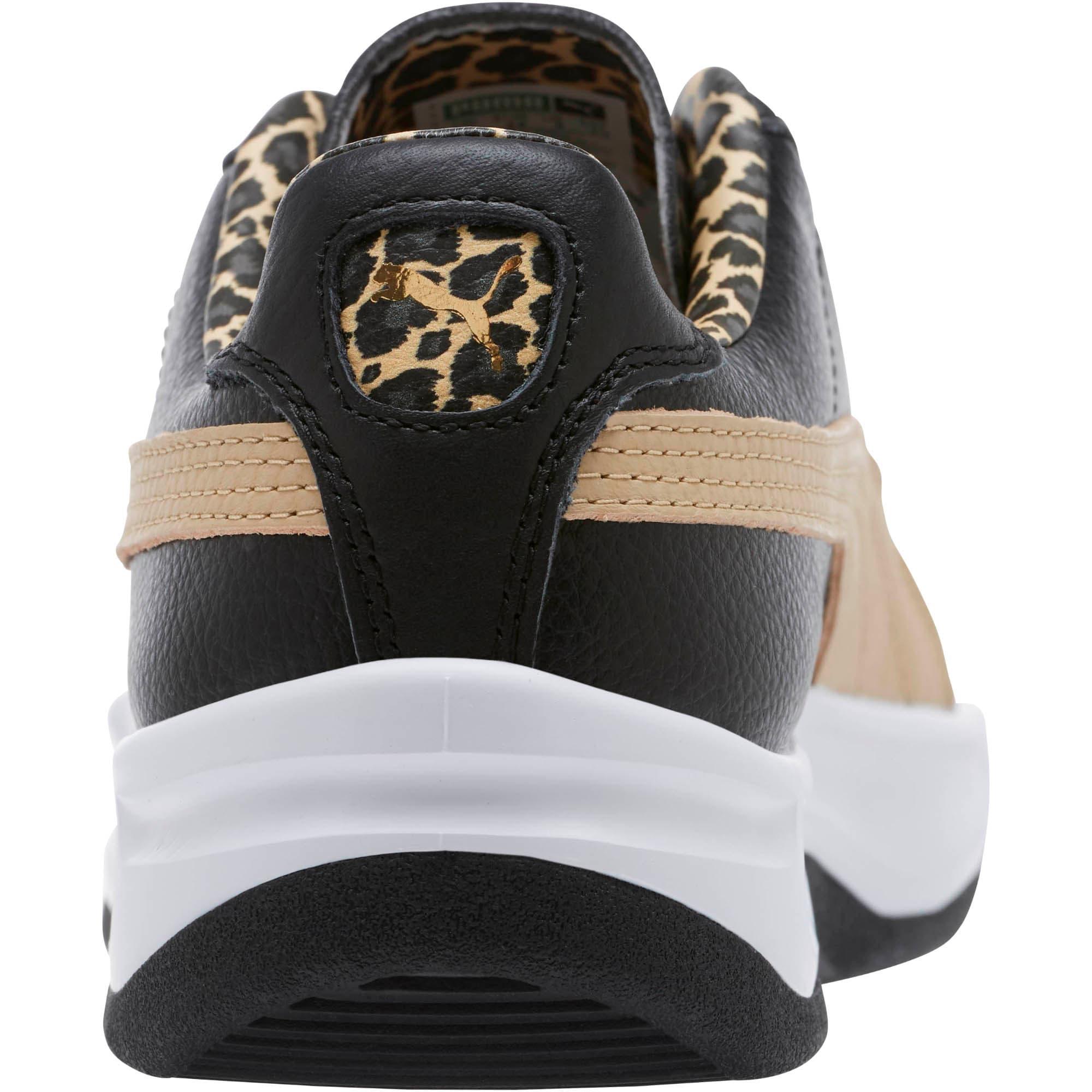 Thumbnail 4 of GV Special Wild Sneakers, Black-Pebble-Puma Team Gold, medium
