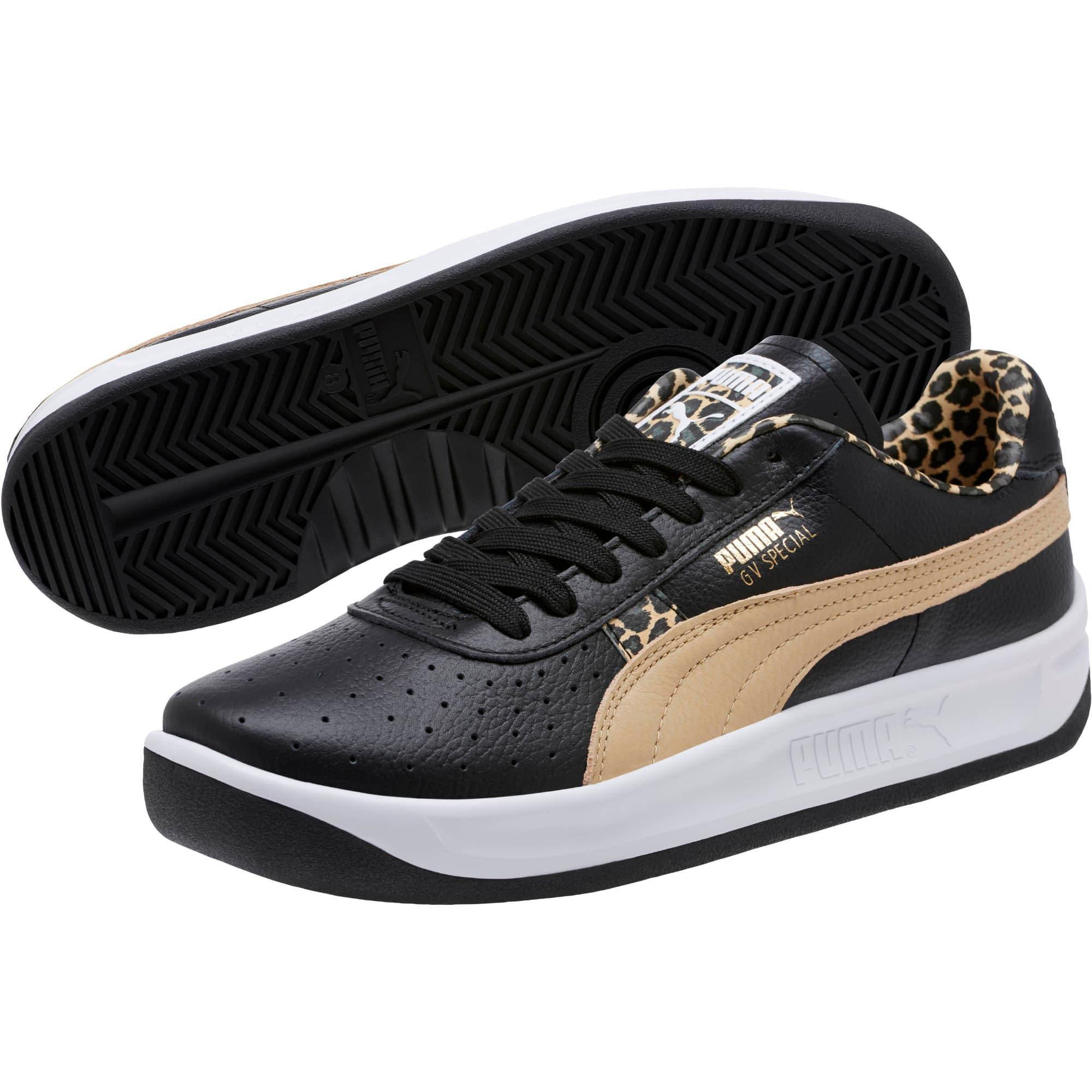 Thumbnail 2 of GV Special Wild Sneakers, Black-Pebble-Puma Team Gold, medium